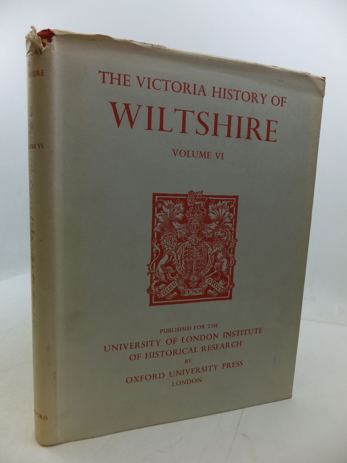 Photo of A HISTORY OF WILTSHIRE VOLUME VI