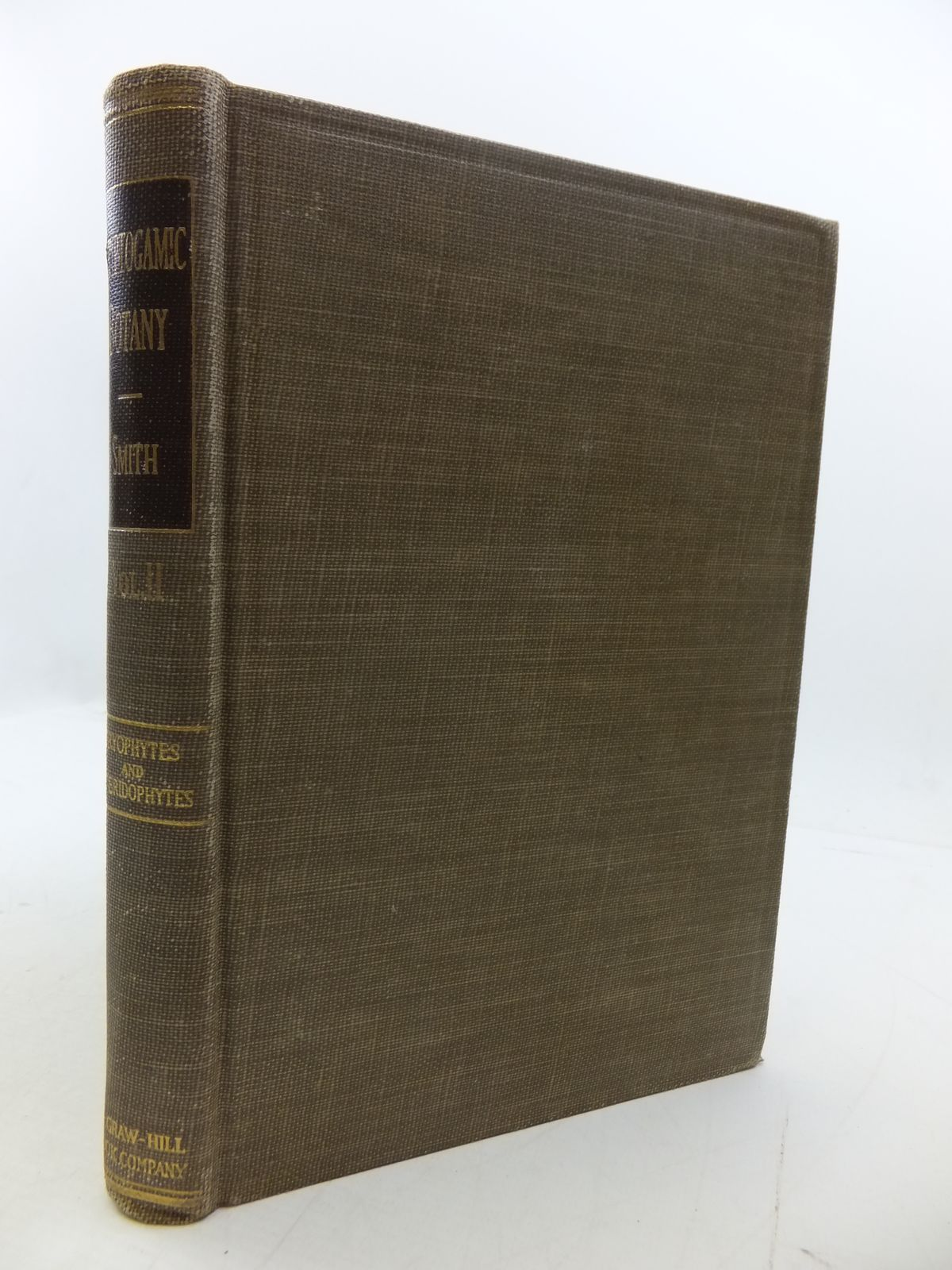 Photo of CRYPTOGAMIC BOTANY VOLUME II BRYOPHYTES AND PTERIDOPHYTES written by Smith, Gilbert M. published by McGraw-Hill Book Company (STOCK CODE: 1807774)  for sale by Stella & Rose's Books