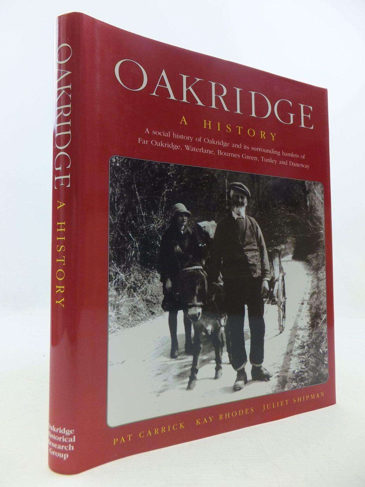 Photo of OAKRIDGE A HISTORY