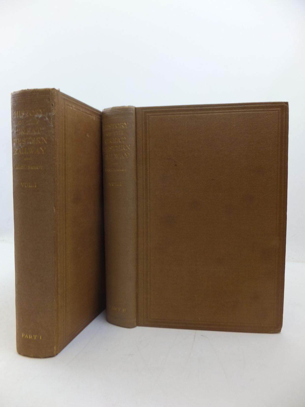 Photo of A HISTORY OF THE GREAT WESTERN RAILWAY VOLUME I 1833-1863 (TWO VOLUMES)