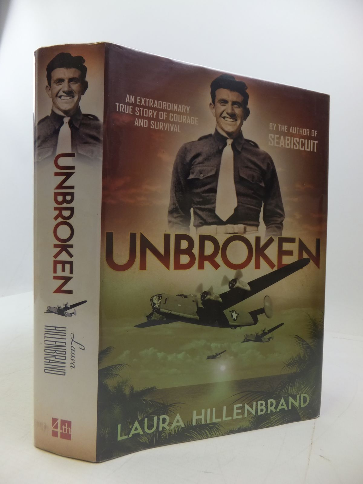 Photo of UNBROKEN: AN EXTRAORDINARY TRUE STORY OF COURAGE AND SURVIVAL