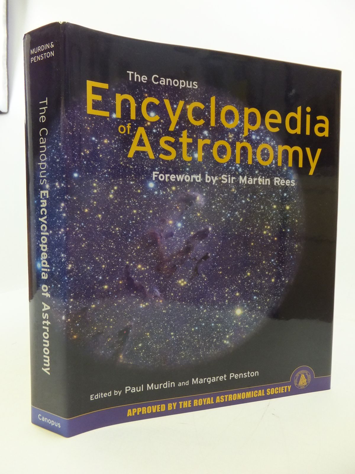 Photo of THE CANOPUS ENCYCLOPEDIA OF ASTRONOMY written by Murdin, Paul<br />Penston, Margaret published by Canopus Publishing Limited (STOCK CODE: 1808058)  for sale by Stella & Rose's Books