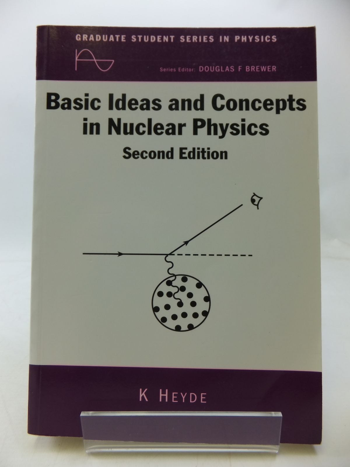 Photo of BASIC IDEAS AND CONCEPTS IN NUCLEAR PHYSICS: AN INTRODUCTORY APPROACH written by Heyde, K. published by Institute Of Physics (STOCK CODE: 1808060)  for sale by Stella & Rose's Books
