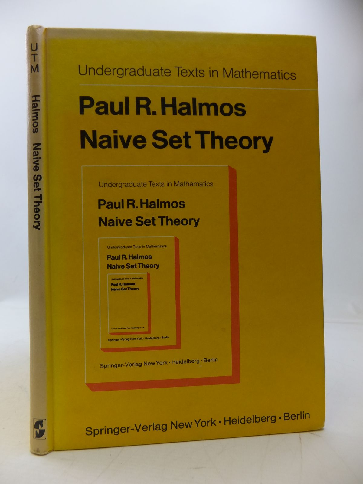 Photo of NAIVE SET THEORY written by Halmos, Paul R. published by Springer-Verlag (STOCK CODE: 1808157)  for sale by Stella & Rose's Books