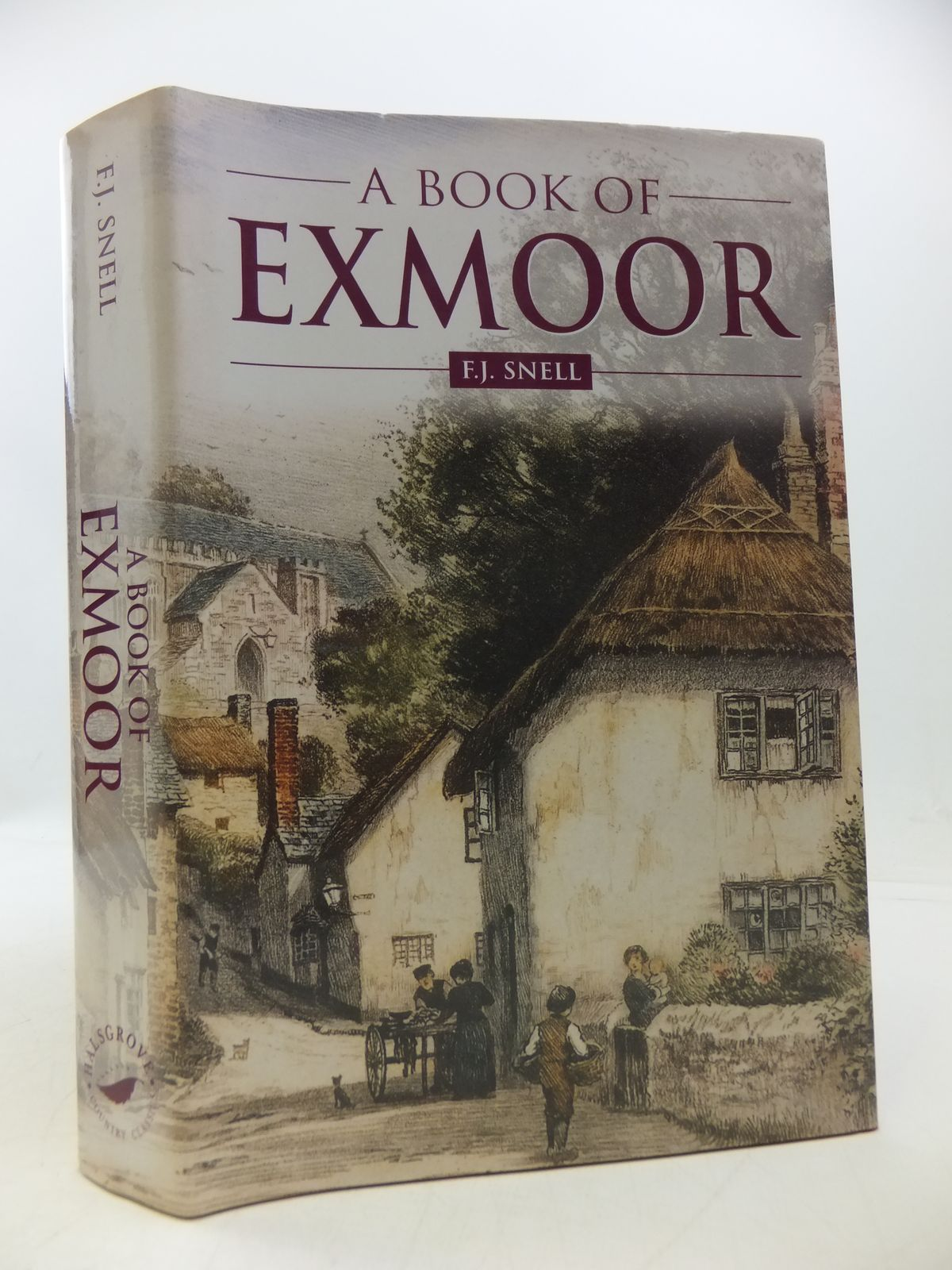 Photo of A BOOK OF EXMOOR written by Snell, F.J. published by Halsgrove (STOCK CODE: 1808227)  for sale by Stella & Rose's Books