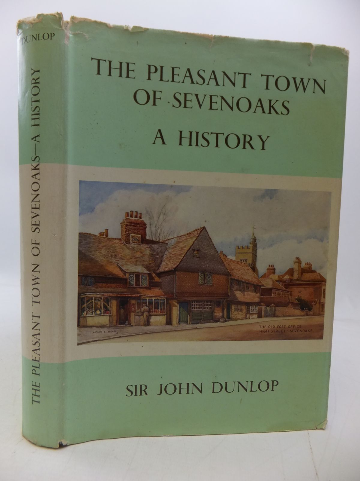 Photo of THE PLEASANT TOWN OF SEVENOAKS A HISTORY written by Dunlop, John published by The Caxton And Holmesdale Press (STOCK CODE: 1808235)  for sale by Stella & Rose's Books
