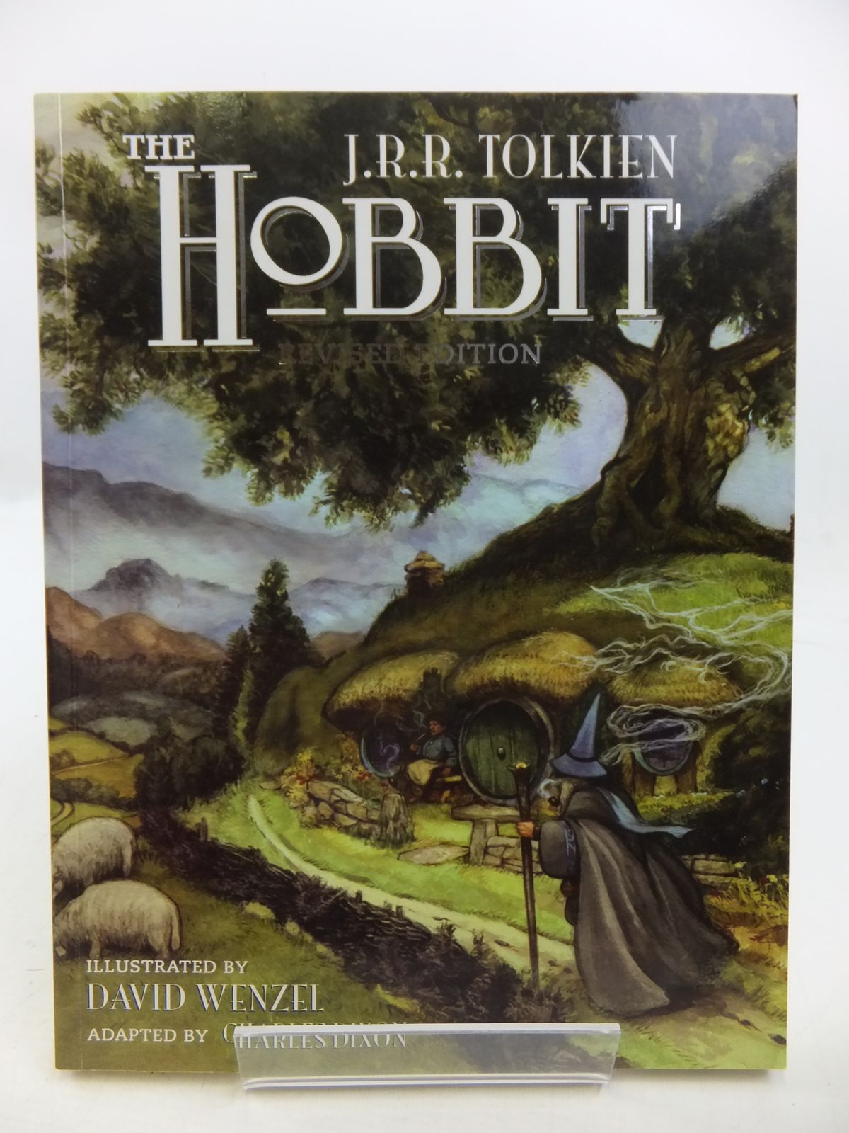 Photo of THE HOBBIT OR THERE AND BACK AGAIN written by Tolkien, J.R.R.<br />Dixon, Charles<br />Deming, Sean illustrated by Wenzel, David published by Grafton Books (STOCK CODE: 1808246)  for sale by Stella & Rose's Books