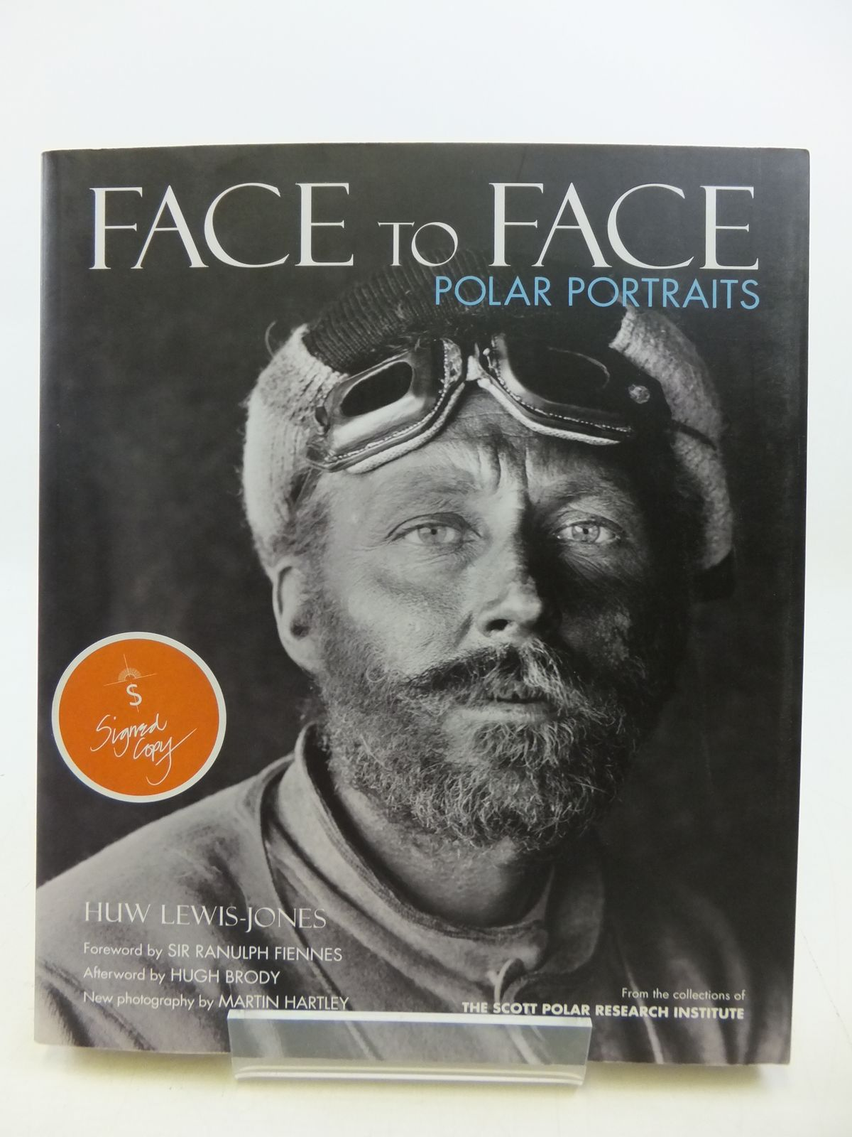 Photo of FACE TO FACE POLAR PORTRAITS written by Lewis-Jones, Huw published by Polarworld (STOCK CODE: 1808248)  for sale by Stella & Rose's Books