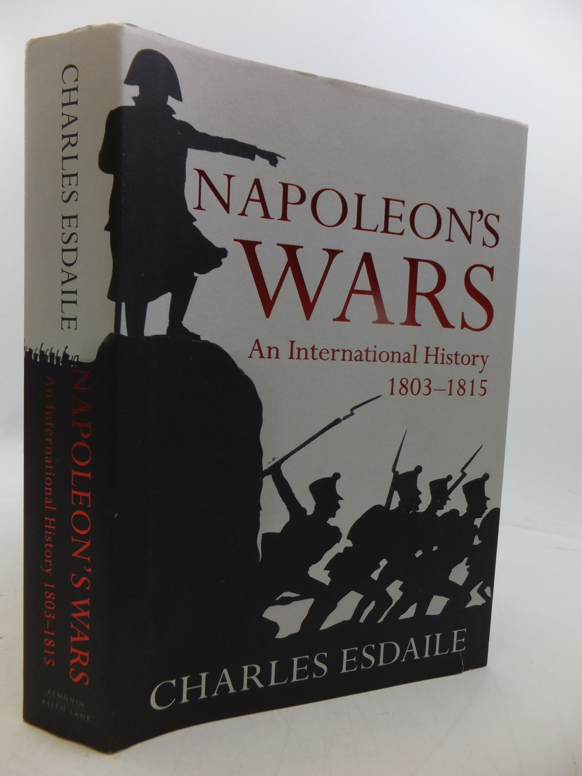 Photo of NAPOLEON'S WARS: AN INTERNATIONAL HISTORY 1803-1815 written by Esdaile, Charles published by Allen Lane (STOCK CODE: 1808252)  for sale by Stella & Rose's Books