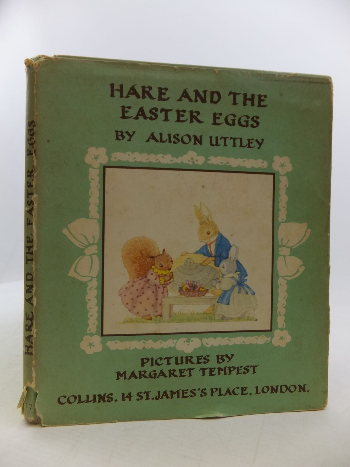 Photo of HARE AND THE EASTER EGGS written by Uttley, Alison illustrated by Tempest, Margaret published by Collins (STOCK CODE: 1808297)  for sale by Stella & Rose's Books