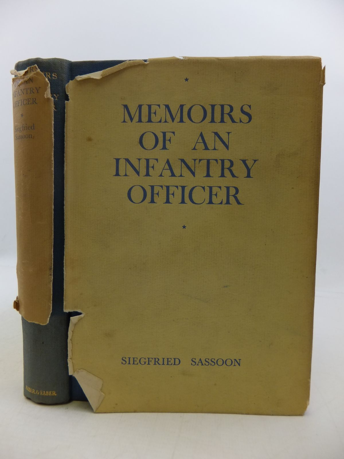 Photo of MEMOIRS OF AN INFANTRY OFFICER written by Sassoon, Siegfried published by Faber & Faber (STOCK CODE: 1808323)  for sale by Stella & Rose's Books