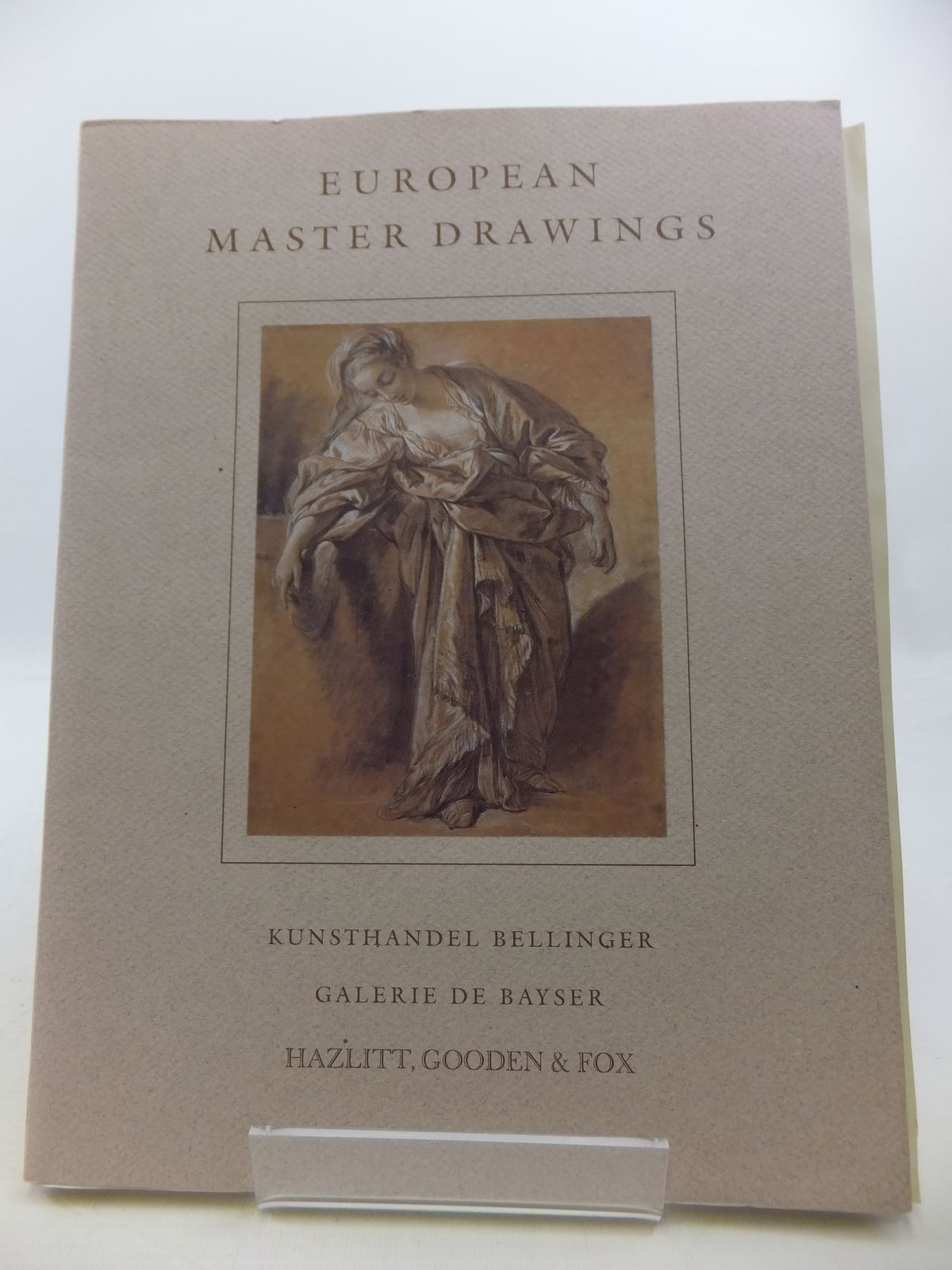 Photo of EUROPEAN MASTER DRAWINGS published by Hazlitt, Gooden & Fox (STOCK CODE: 1808327)  for sale by Stella & Rose's Books
