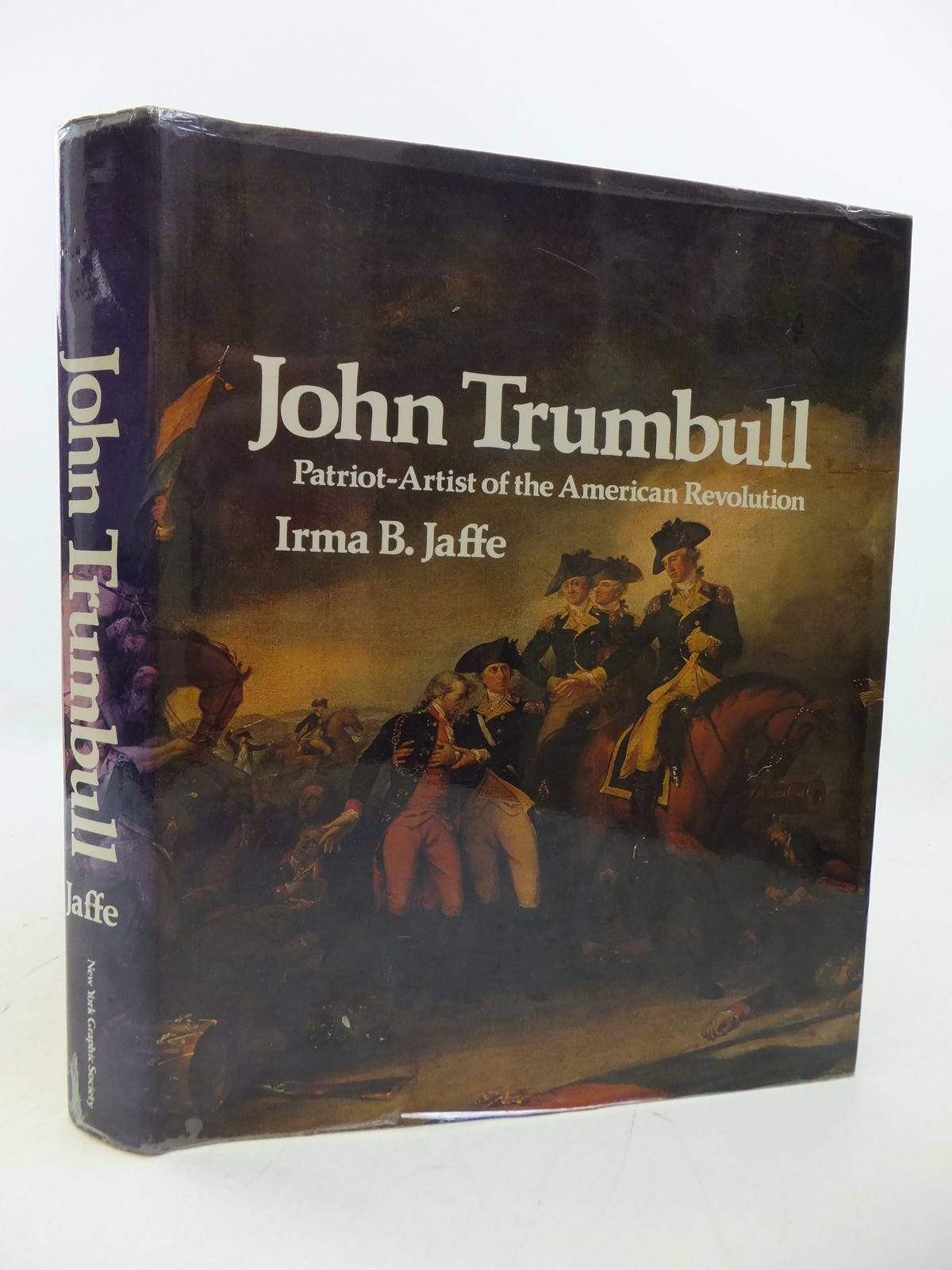 Photo of JOHN TRUMBULL PATRIOT-ARTIST OF THE AMERICAN REVOLUTION written by Jaffe, Irma B. illustrated by Trumbull, John published by New York Graphic Society Publishers (STOCK CODE: 1808331)  for sale by Stella & Rose's Books