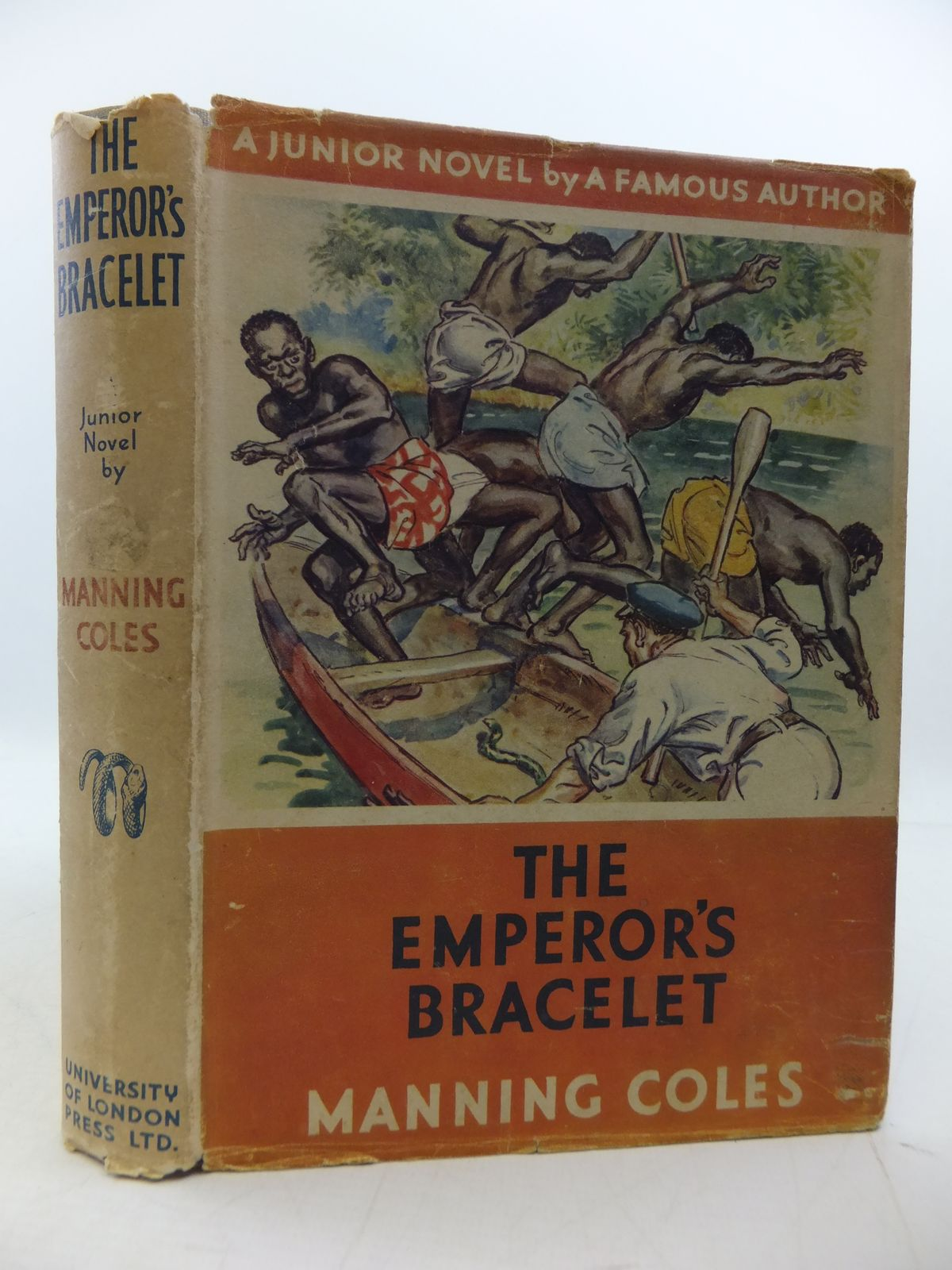 Photo of THE EMPEROR'S BRACELET written by Coles, Manning illustrated by Brock, H.M. published by University of London Press Ltd. (STOCK CODE: 1808342)  for sale by Stella & Rose's Books