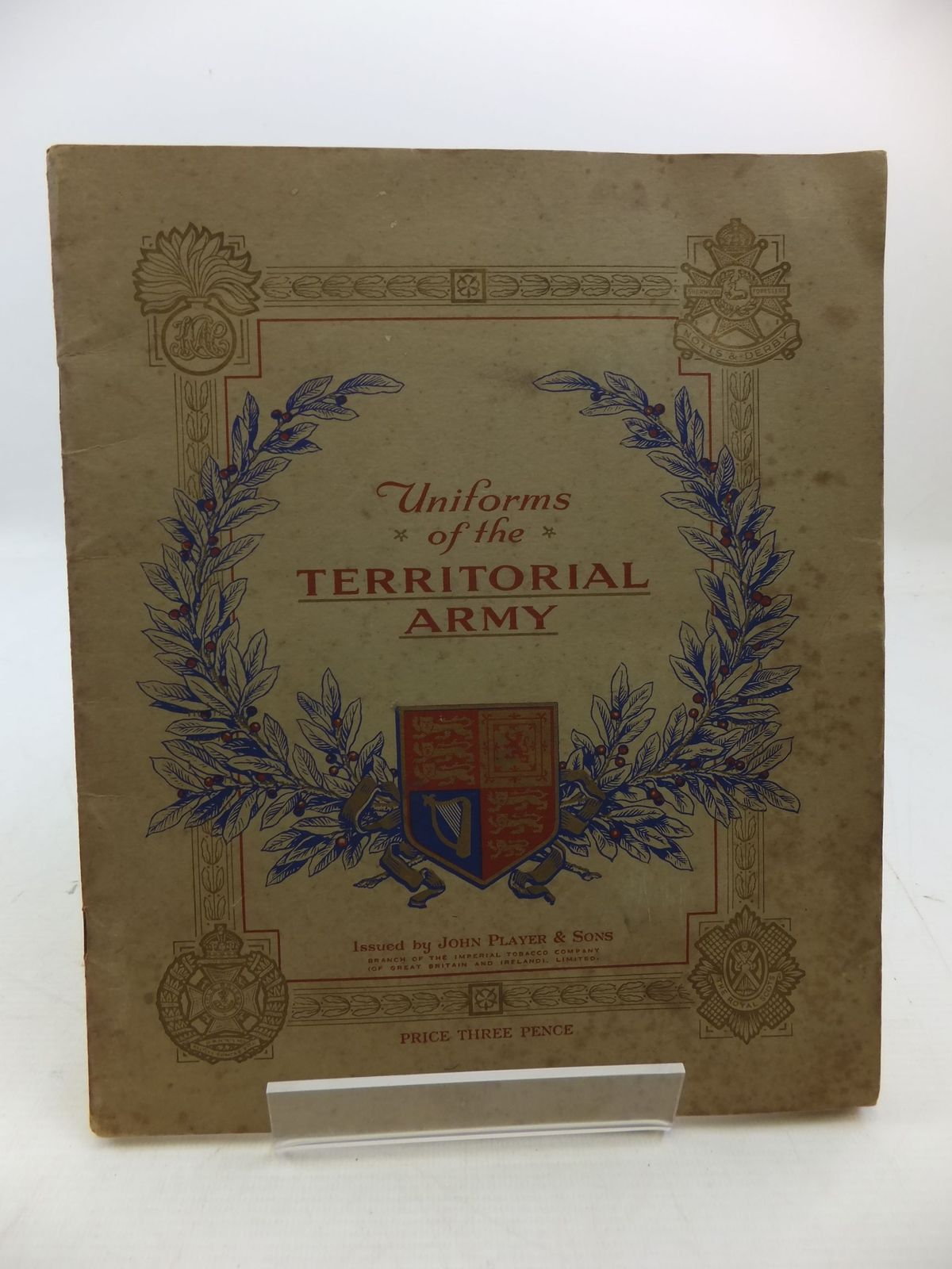 Photo of UNIFORMS OF THE TERRITORIAL ARMY published by John Player & Sons (STOCK CODE: 1808367)  for sale by Stella & Rose's Books