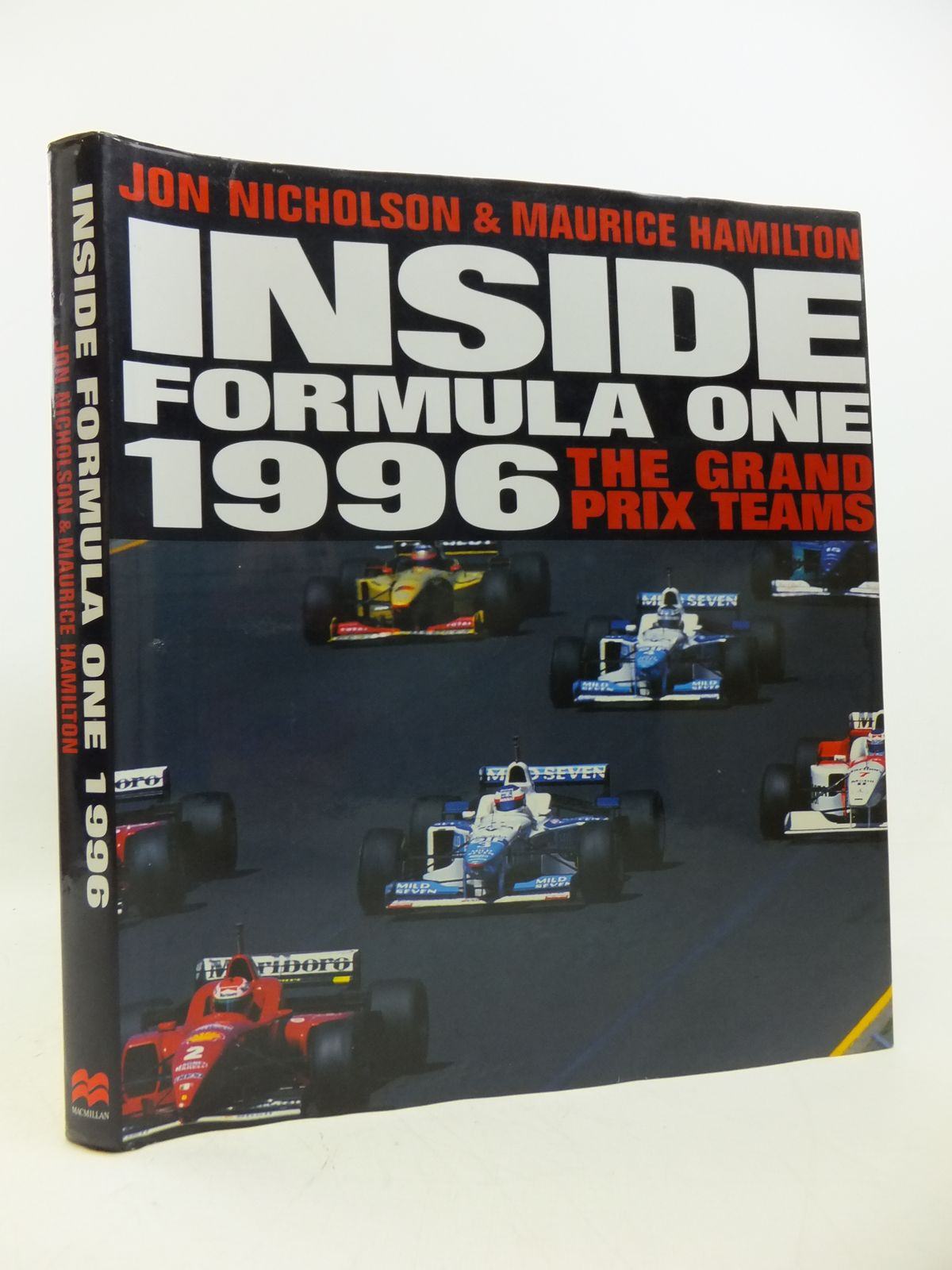 Photo of INSIDE FORMULA ONE 1996: THE GRAND PRIX TEAMS written by Nicholson, Jon<br />Hamilton, Maurice published by MacMillan (STOCK CODE: 1808598)  for sale by Stella & Rose's Books