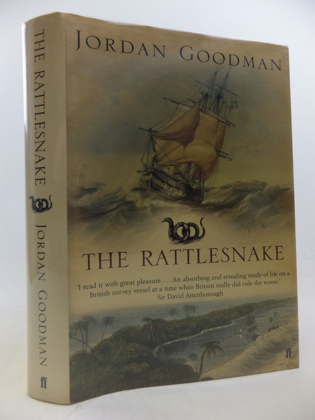 Photo Of THE RATTLESNAKE A VOYAGE OF DISCOVERY TO CORAL SEA Written By Goodman