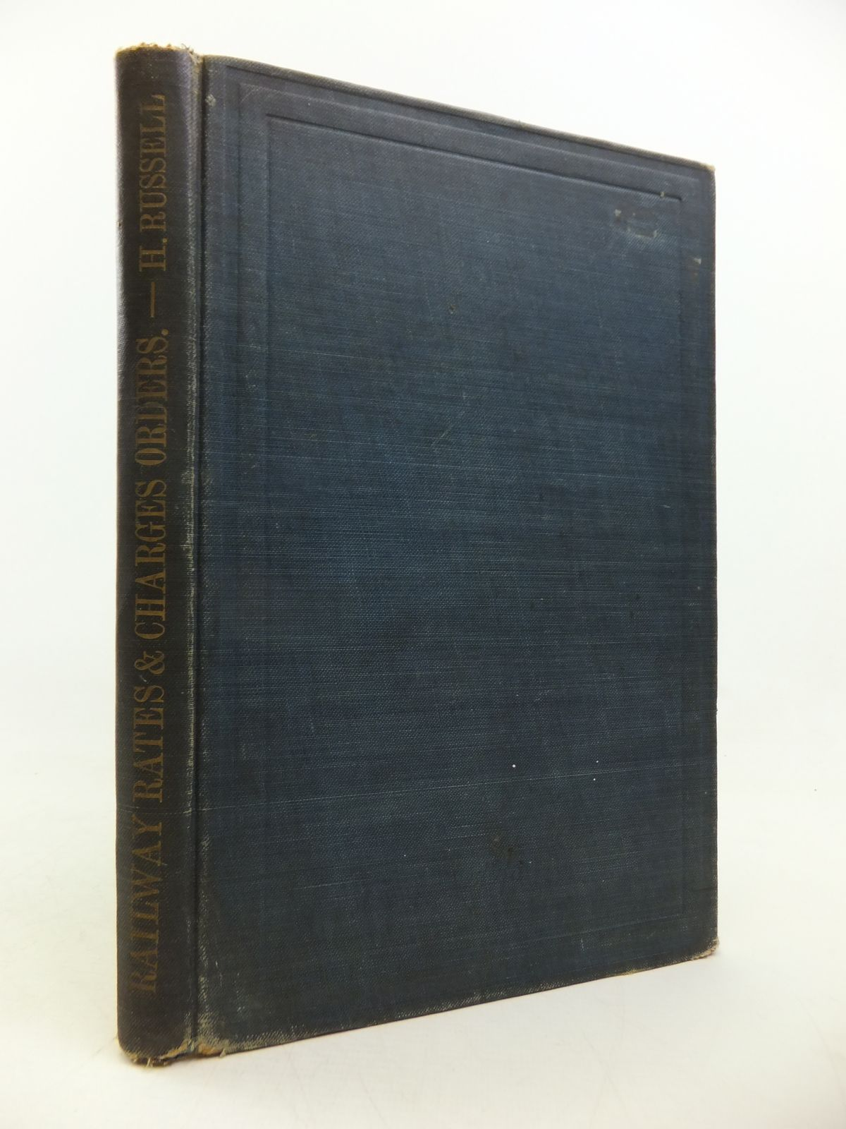 Photo of RAILWAY RATES & CHARGES ORDERS written by Russell, Harold published by Stevens and Sons Limited (STOCK CODE: 1808740)  for sale by Stella & Rose's Books