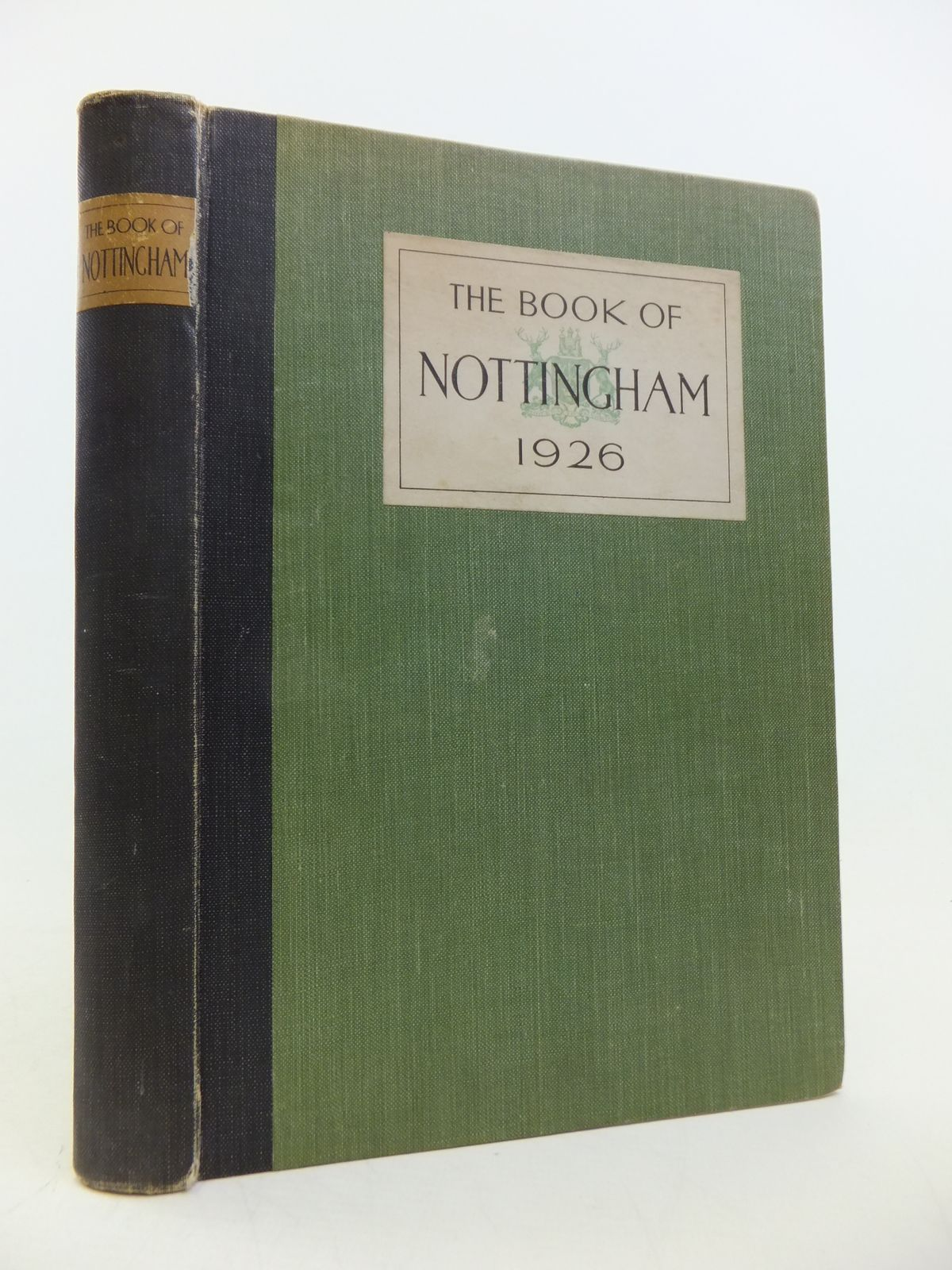 Photo of THE BOOK OF NOTTINGHAM (STOCK CODE: 1808742)  for sale by Stella & Rose's Books