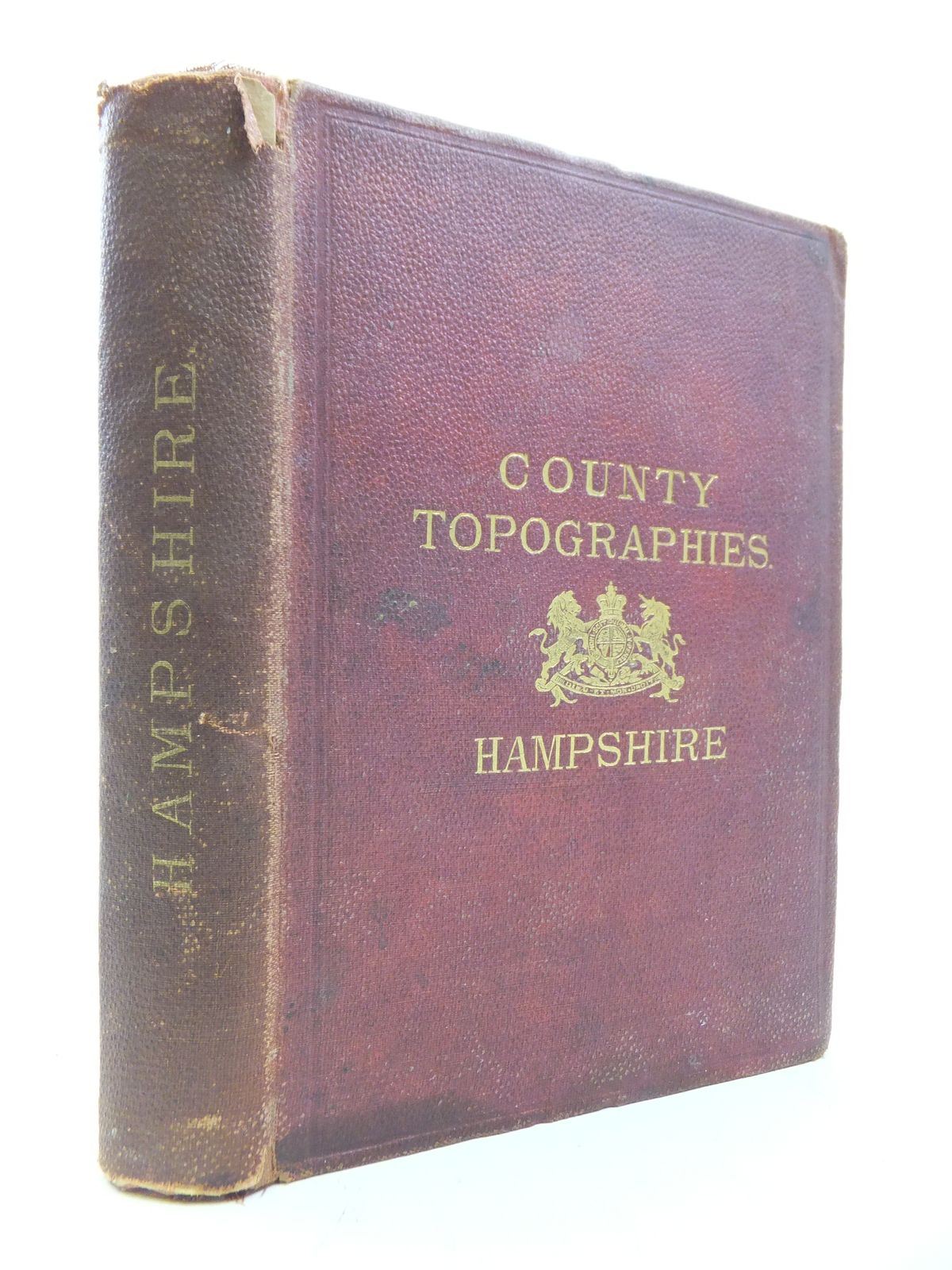 Photo of COUNTY TOPOGRAPHIES: HAMPSHIRE INCLUDING THE ISLE OF WIGHT written by Kelly, E.R. published by Kelly & Co. (STOCK CODE: 1808781)  for sale by Stella & Rose's Books
