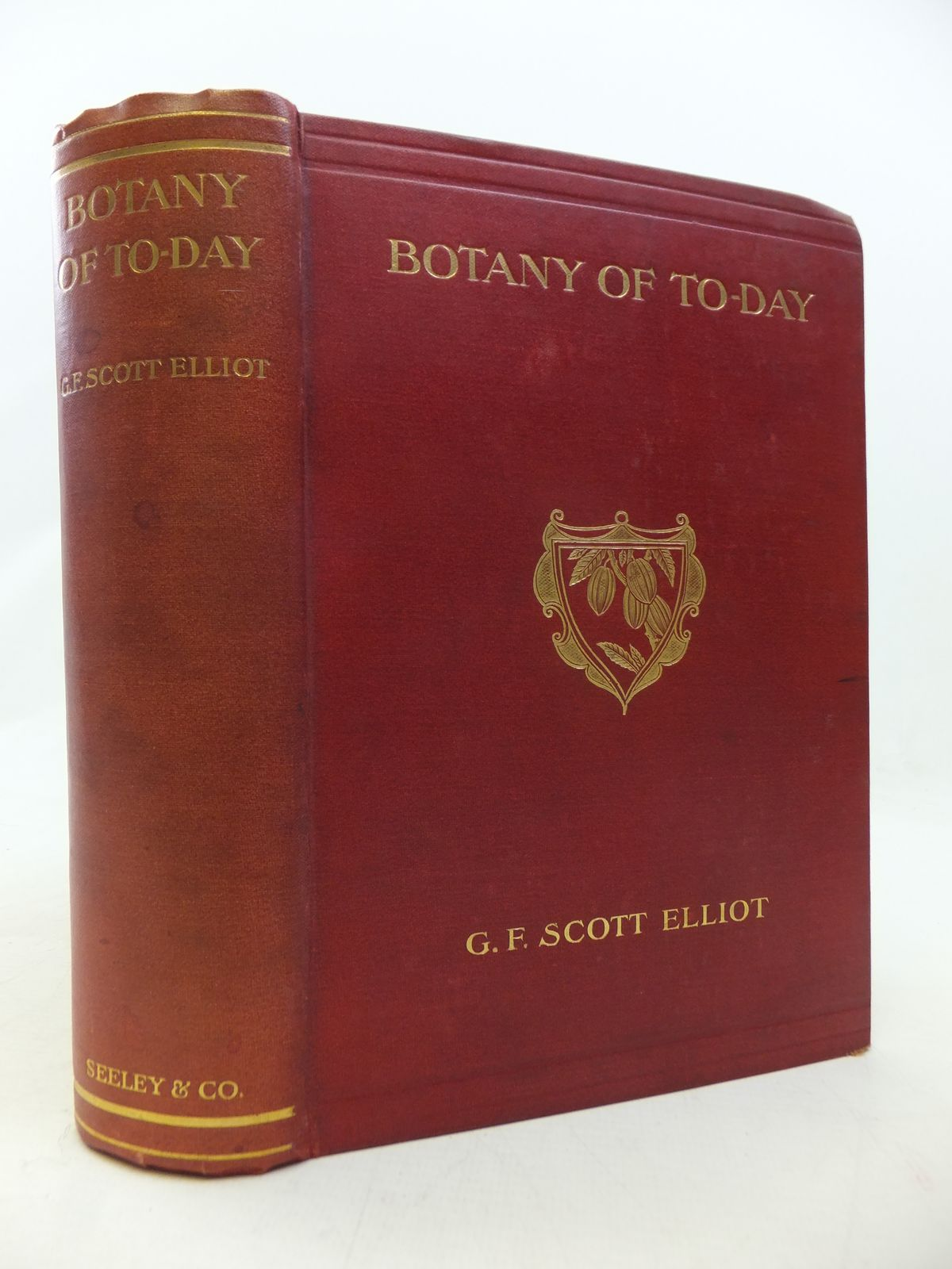 Photo of BOTANY OF TO-DAY A POPULAR ACCOUNT OF RECENT NOTABLE DISCOVERIES written by Elliot, G.F. Scott published by Seeley and Co. Limited (STOCK CODE: 1809142)  for sale by Stella & Rose's Books