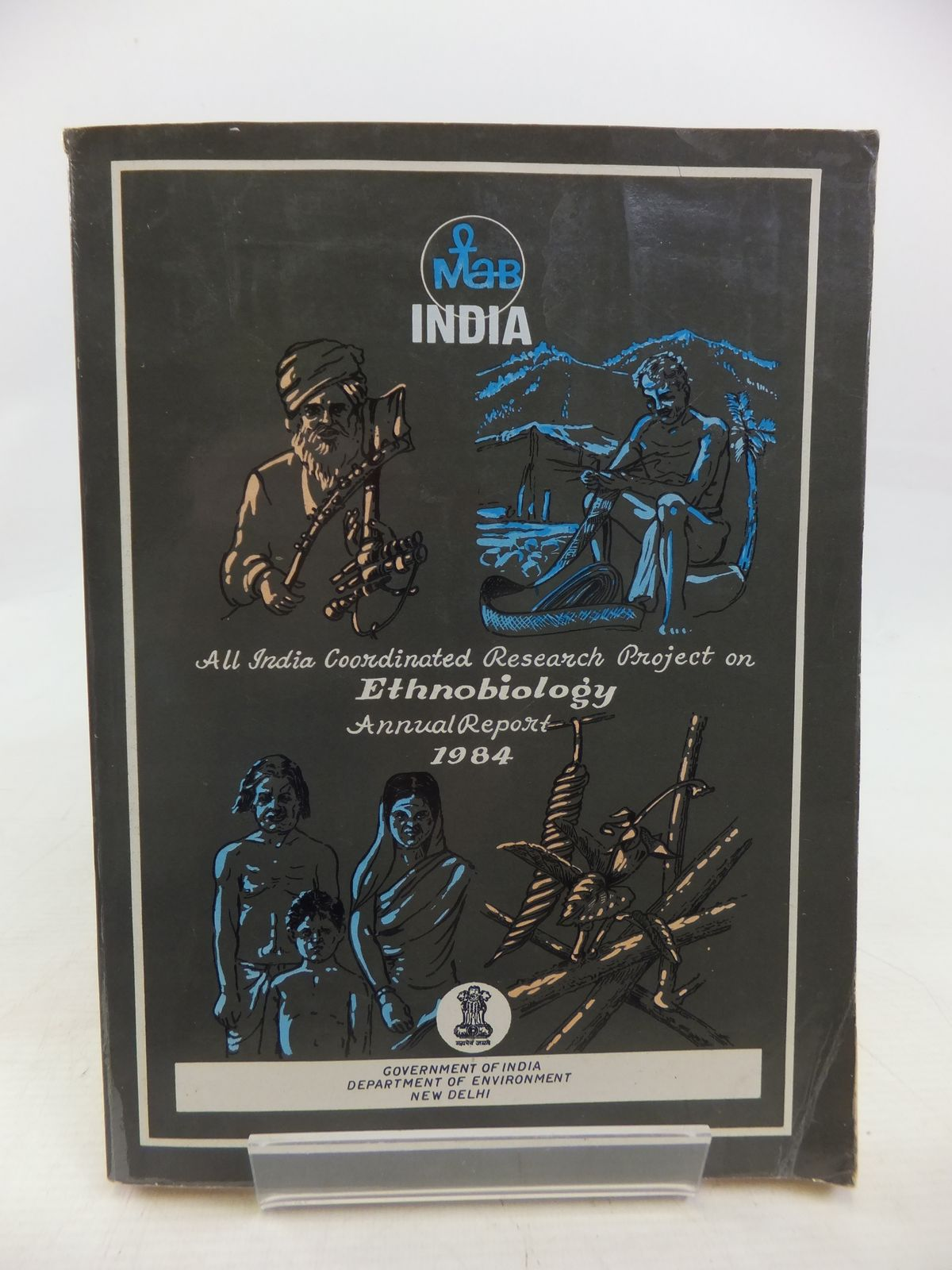 Photo of ALL INDIA COORDINATED RESEARCH PROJECT ON ETHNOBIOLOGY ANNUAL REPORT 1984 published by Government Of India (STOCK CODE: 1809399)  for sale by Stella & Rose's Books