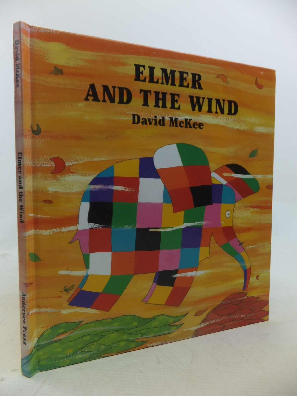 Photo of ELMER AND THE WIND written by McKee, David illustrated by McKee, David published by Anderson Press (STOCK CODE: 1809588)  for sale by Stella & Rose's Books