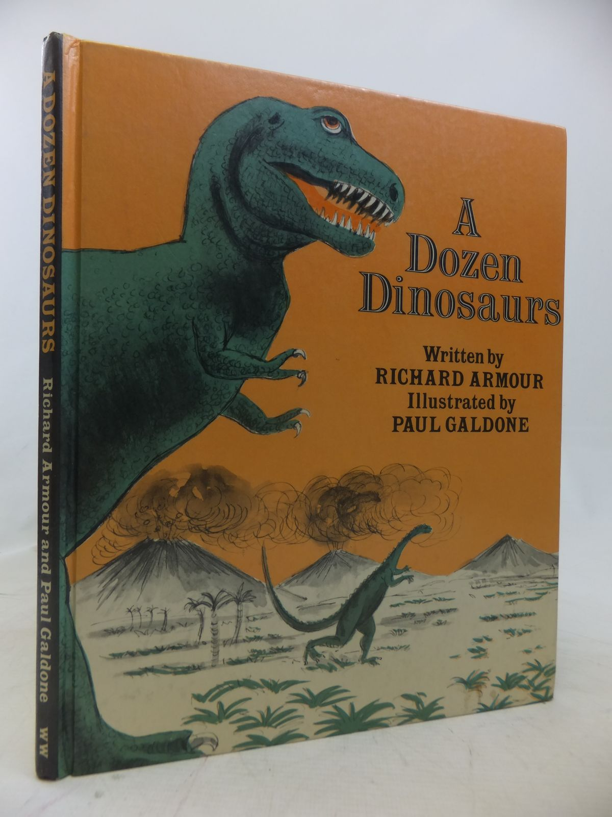 Photo of A DOZEN DINOSAURS written by Armour, Richard illustrated by Galdone, Paul published by World's Work (STOCK CODE: 1809615)  for sale by Stella & Rose's Books