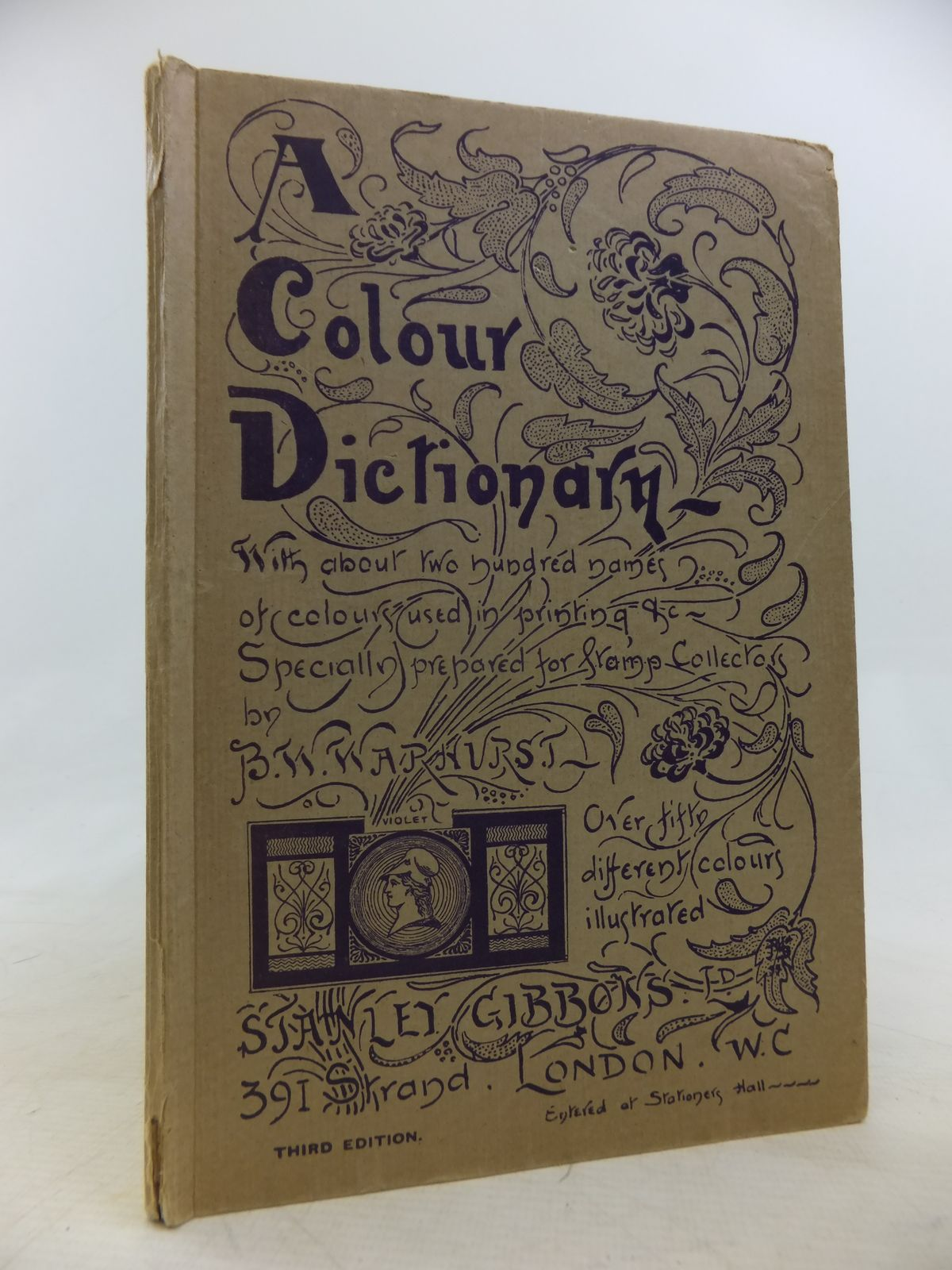 Book colour names - Photo Of A Colour Dictionary Giving Two Hundred Names Of Colours Written By Warhurst