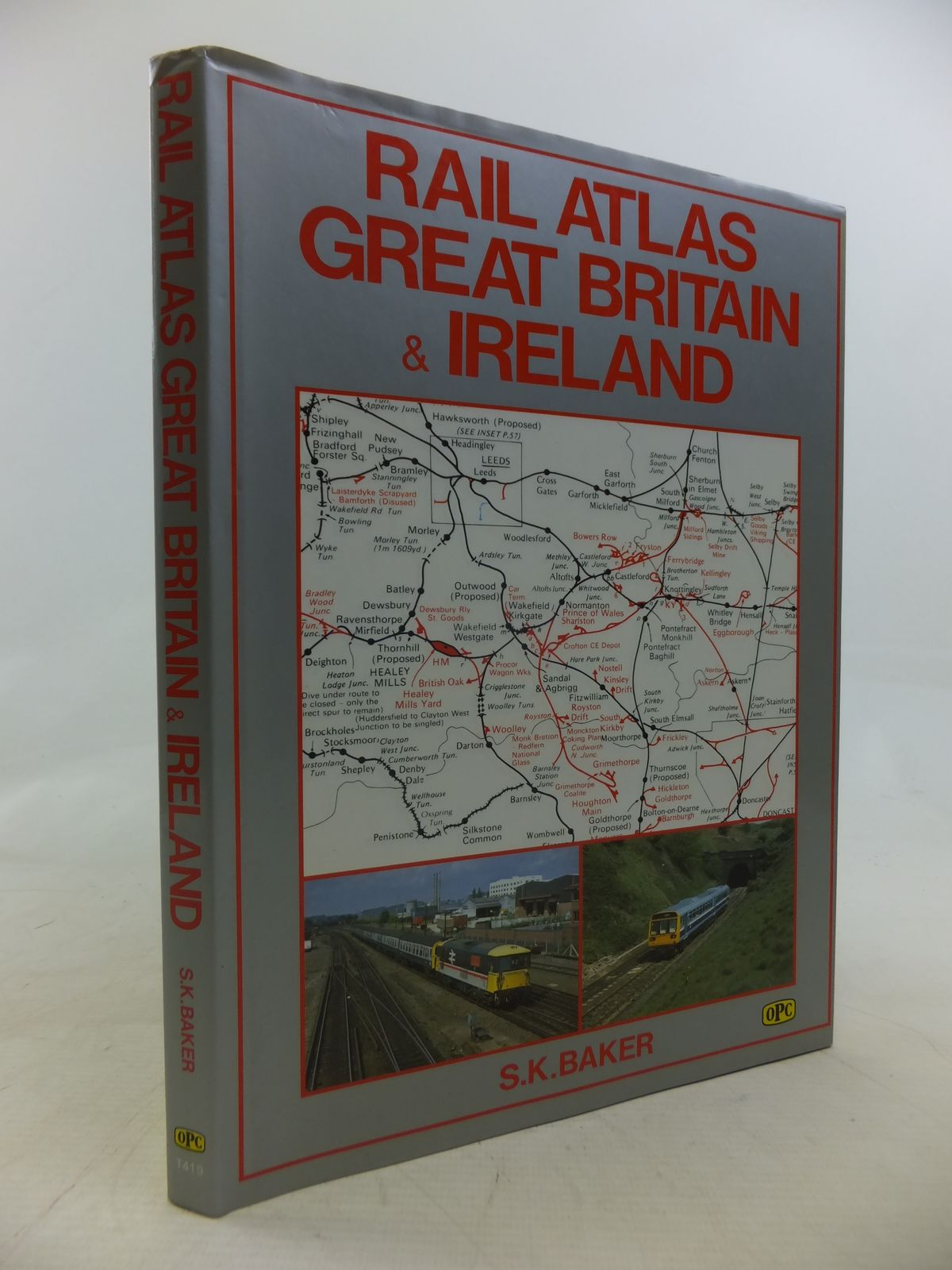 Photo of RAIL ATLAS GREAT BRITAIN & IRELAND written by Baker, S.K. published by Oxford Publishing (STOCK CODE: 1809717)  for sale by Stella & Rose's Books