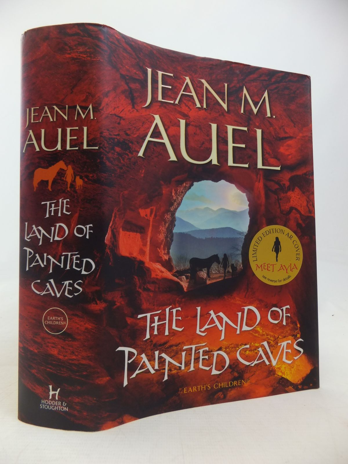 Photo of THE LAND OF PAINTED CAVES written by Auel, Jean M. published by Hodder & Stoughton (STOCK CODE: 1809787)  for sale by Stella & Rose's Books