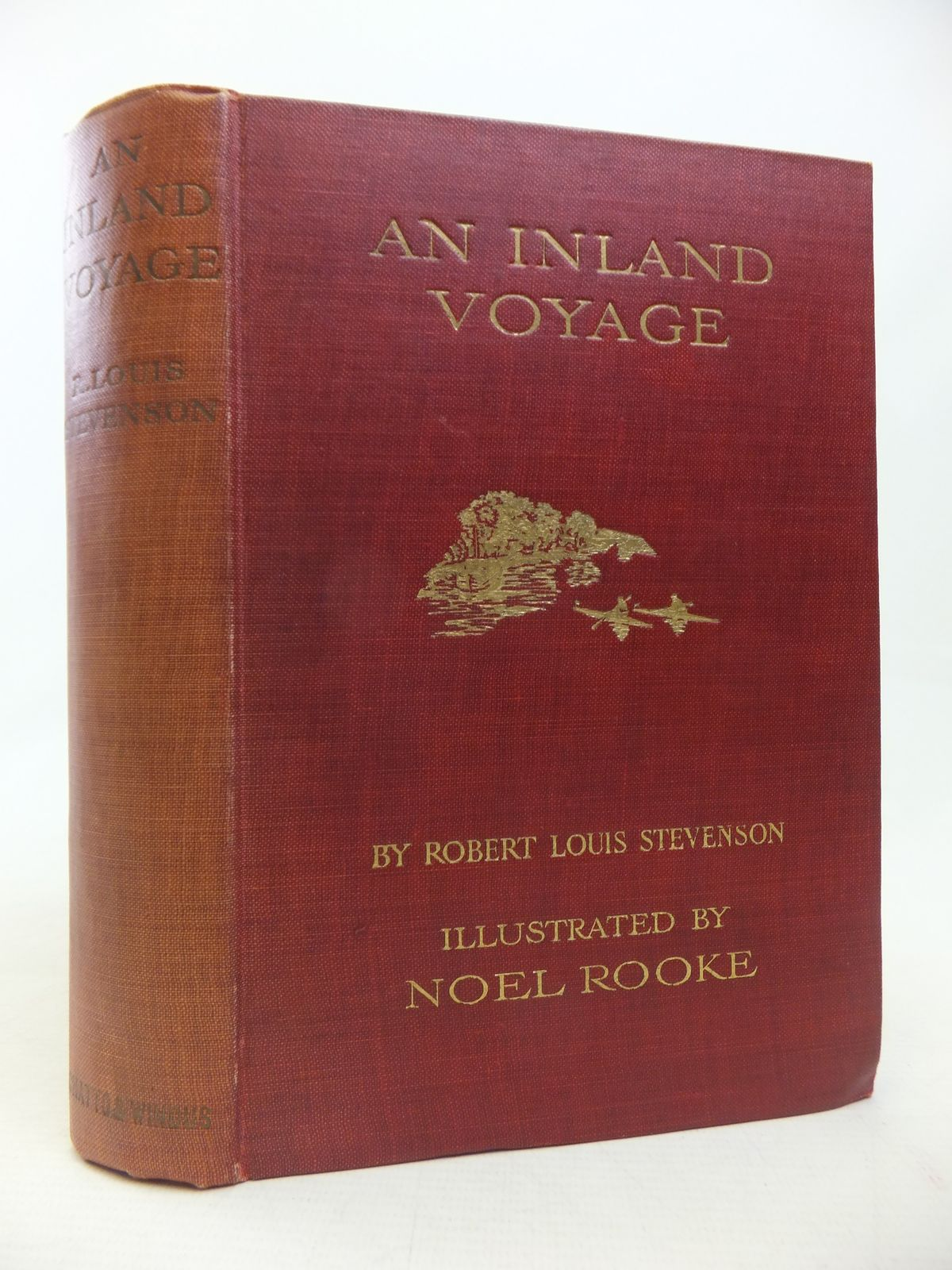 Photo of AN INLAND VOYAGE written by Stevenson, Robert Louis illustrated by Rooke, Noel published by Chatto & Windus (STOCK CODE: 1809934)  for sale by Stella & Rose's Books