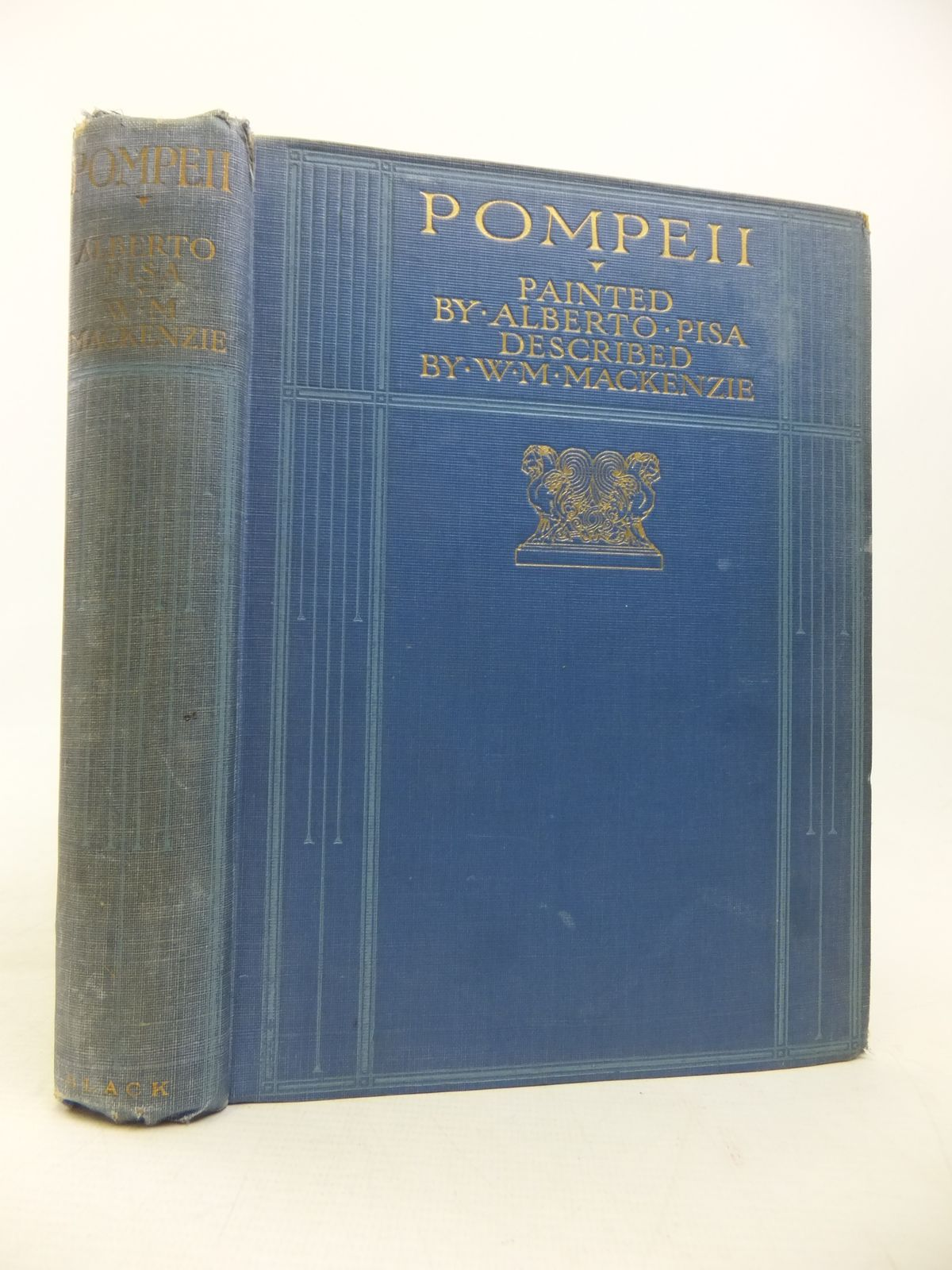 Photo of POMPEII written by Mackenzie, W.M. illustrated by Pisa, Alberto published by A. & C. Black (STOCK CODE: 1810066)  for sale by Stella & Rose's Books