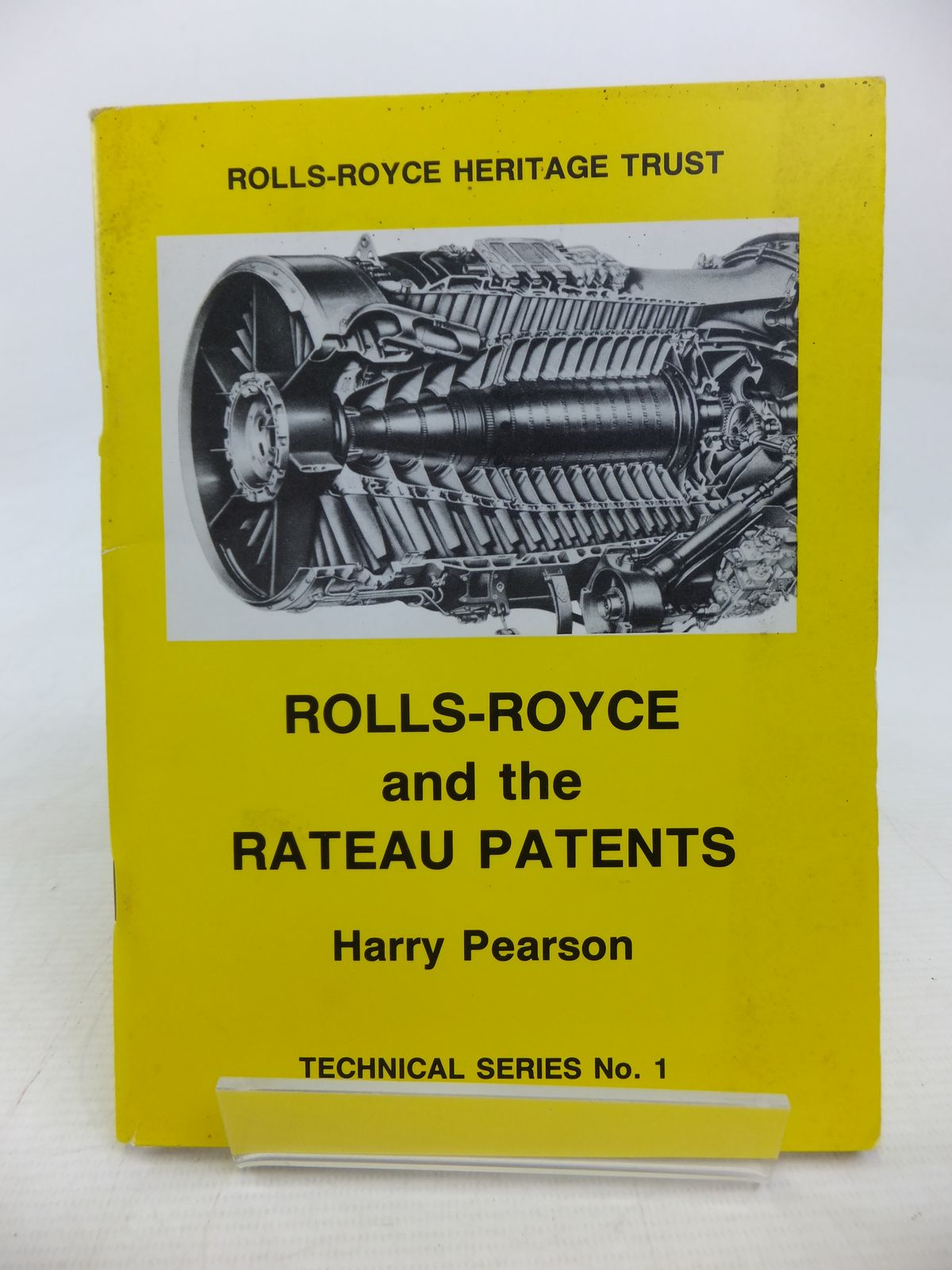 Photo of ROLLS-ROYCE AND THE RATEAU PATENTS written by Pearson, Harry published by Rolls-Royce Heritage Trust (STOCK CODE: 1810077)  for sale by Stella & Rose's Books