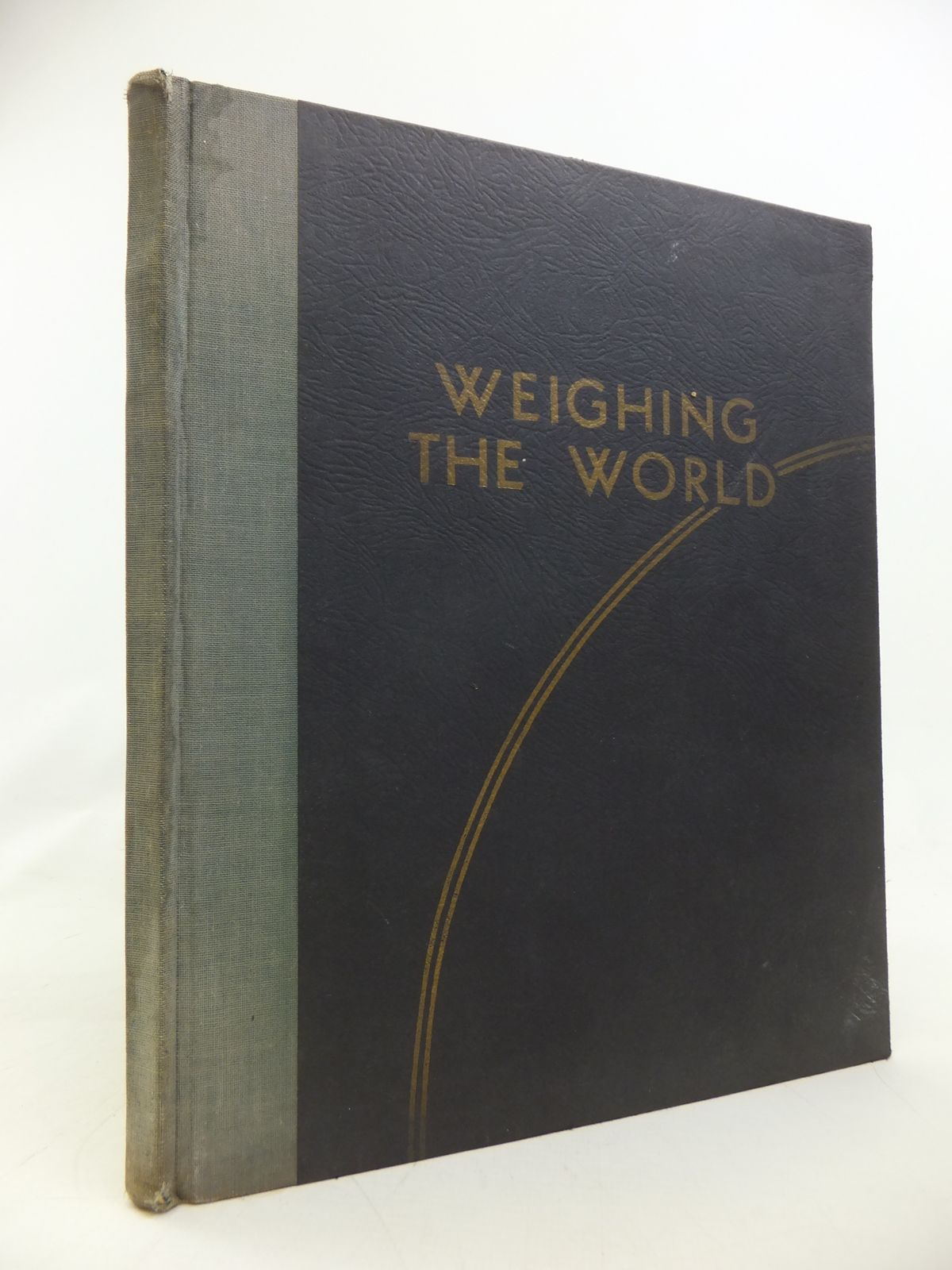 Photo of WEIGHING THE WORLD written by Leigh-Bennett, E.P. published by W & T Avery, Ltd (STOCK CODE: 1810215)  for sale by Stella & Rose's Books