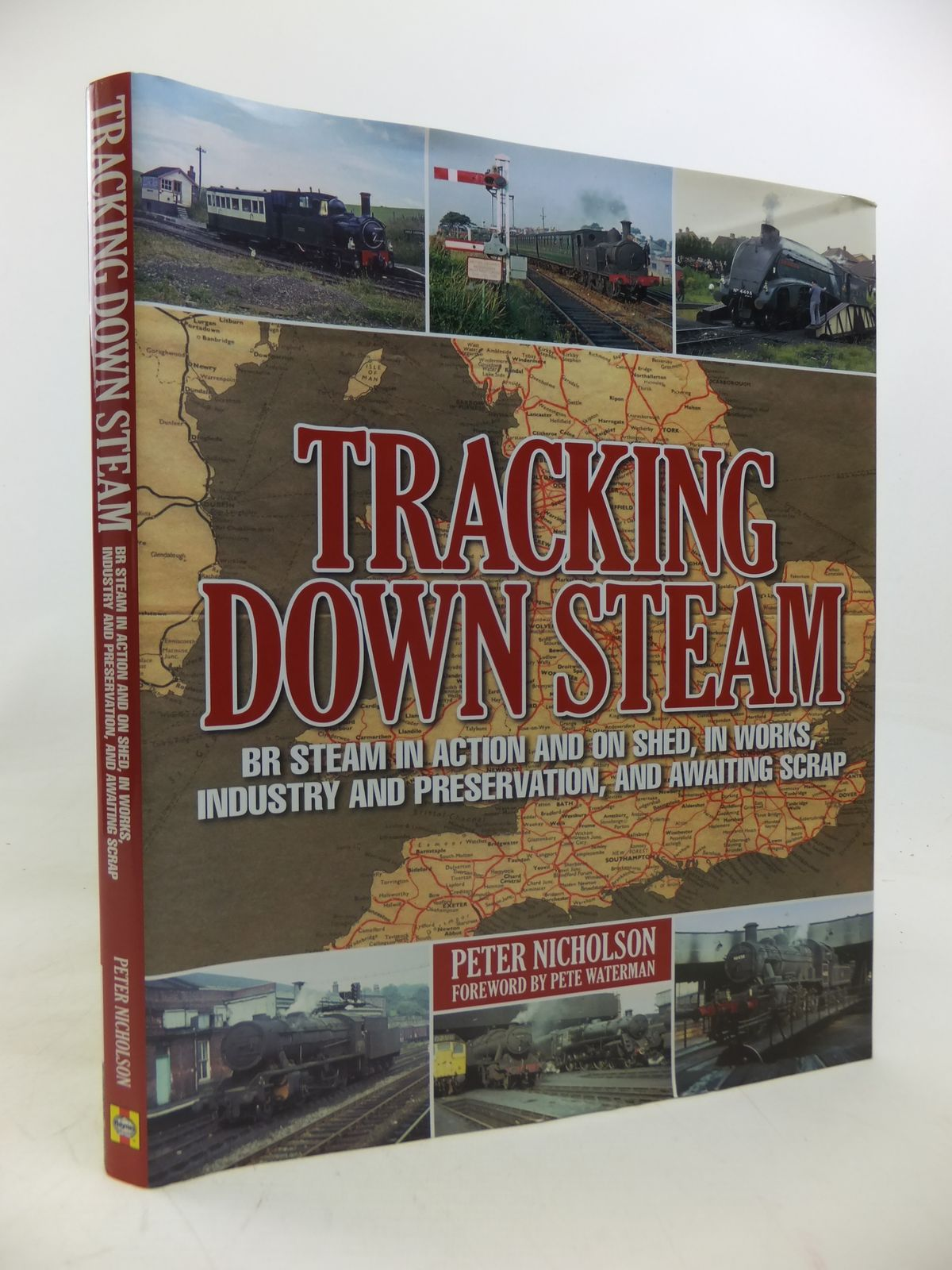 Photo of TRACKING DOWN STEAM written by Nicholson, Peter published by Haynes Publishing Group (STOCK CODE: 1810252)  for sale by Stella & Rose's Books