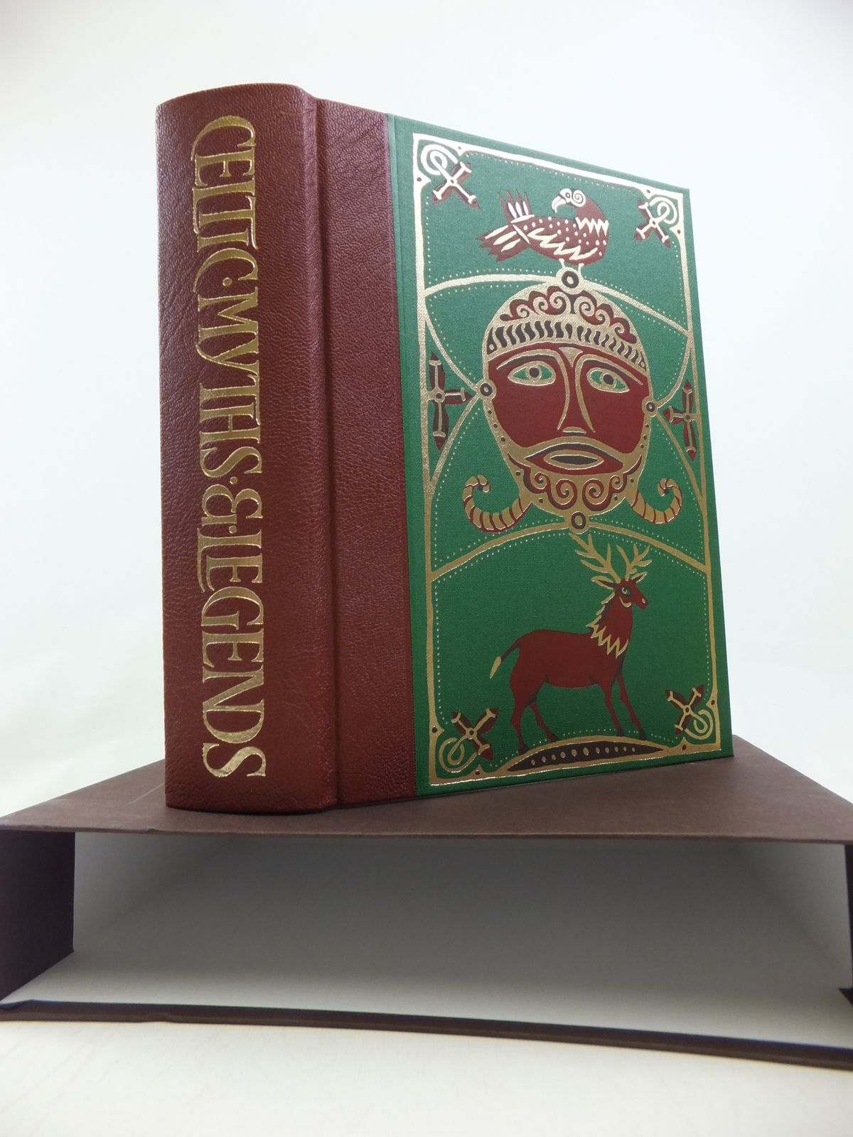 Photo of CELTIC MYTHS & LEGENDS written by Matthews, Caitlin<br />Matthews, John illustrated by Ray, Jane published by Folio Society (STOCK CODE: 1810474)  for sale by Stella & Rose's Books