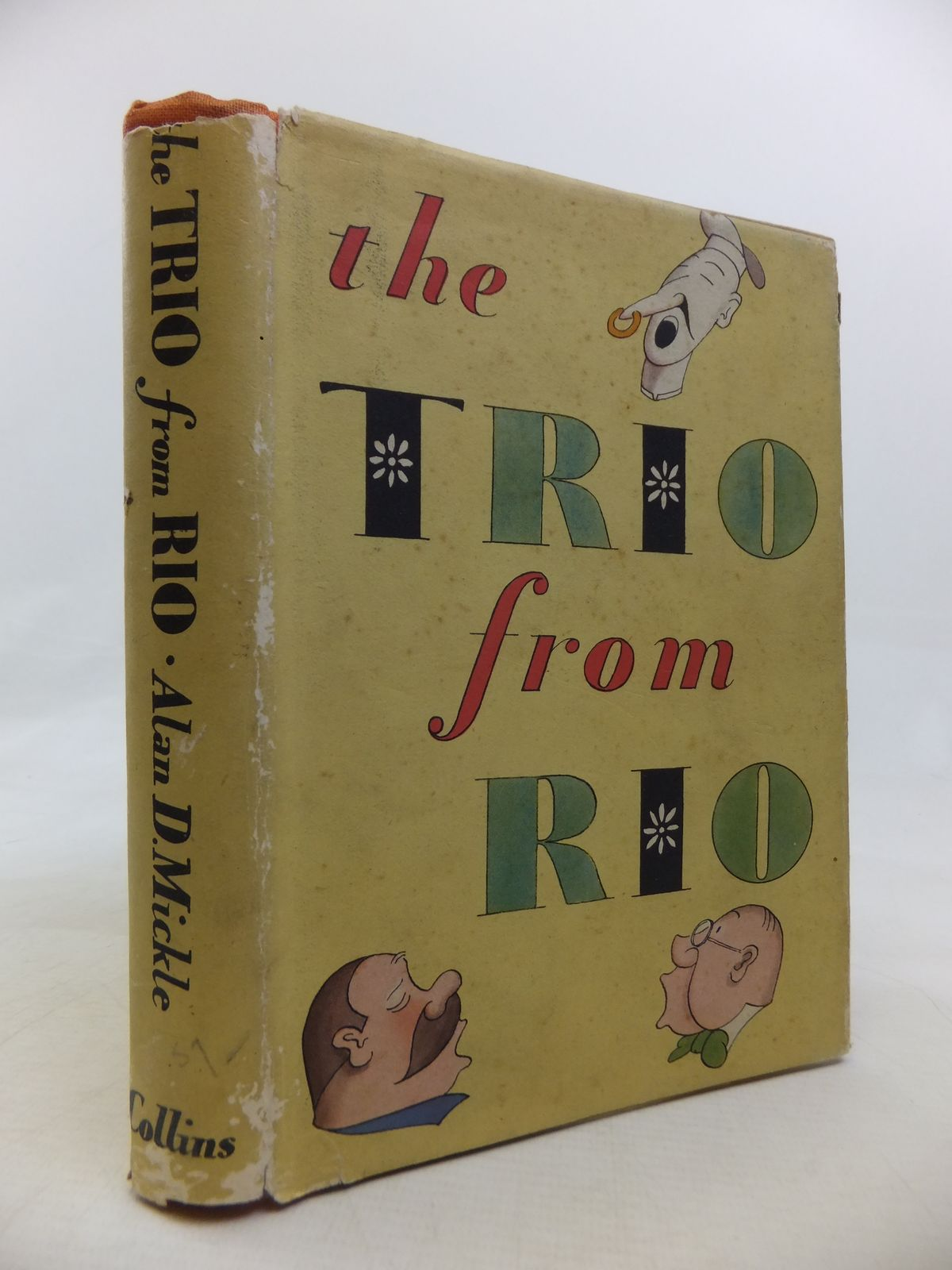 Photo of THE TRIO FROM RIO written by Mickle, Alan D. illustrated by Bovey,  published by Collins (STOCK CODE: 1810592)  for sale by Stella & Rose's Books