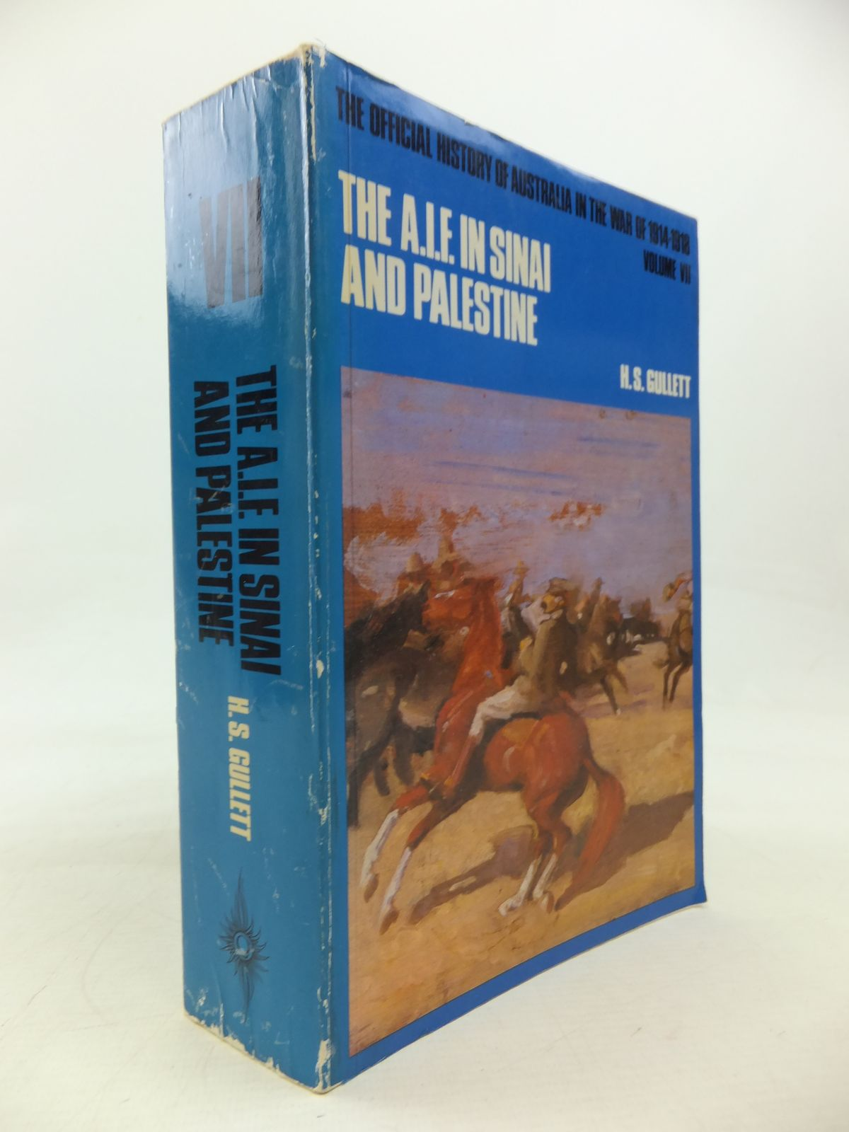 Photo of THE AUSTRALIAN IMPERIAL FORCE IN SINAI AND PALESTINE 1914-1918 written by Gullett, H.S. published by University Of Queensland Press (STOCK CODE: 1810603)  for sale by Stella & Rose's Books