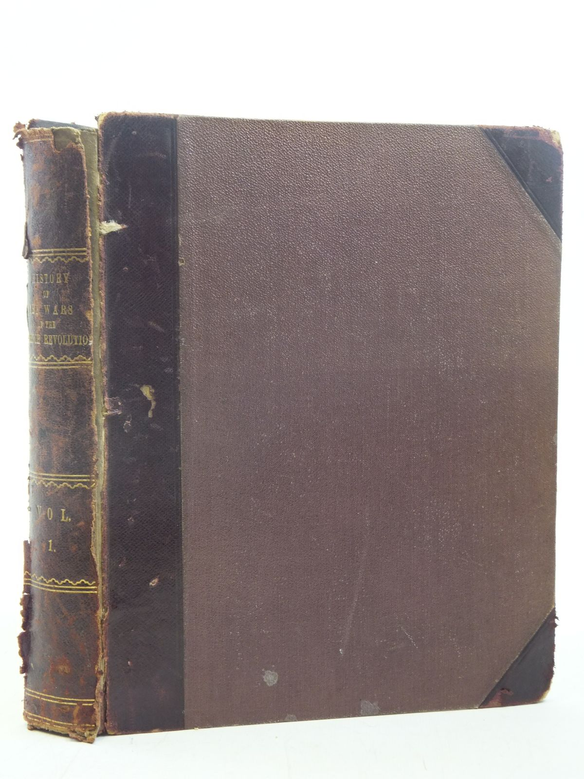 Photo of HISTORY OF THE WARS OF THE FRENCH REVOLUTION VOLUME 1 written by Baines, Edward published by Longman, Hurst, Rees, Orme And Brown (STOCK CODE: 1810854)  for sale by Stella & Rose's Books