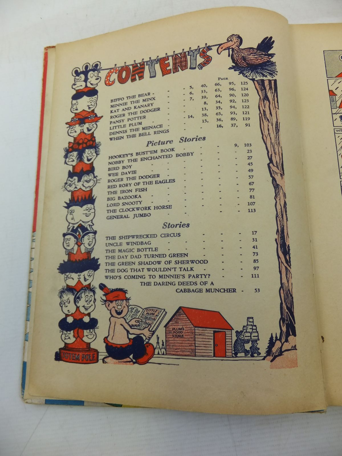 Photo of THE BEANO BOOK 1956 published by D.C. Thomson & Co Ltd. (STOCK CODE: 1810885)  for sale by Stella & Rose's Books