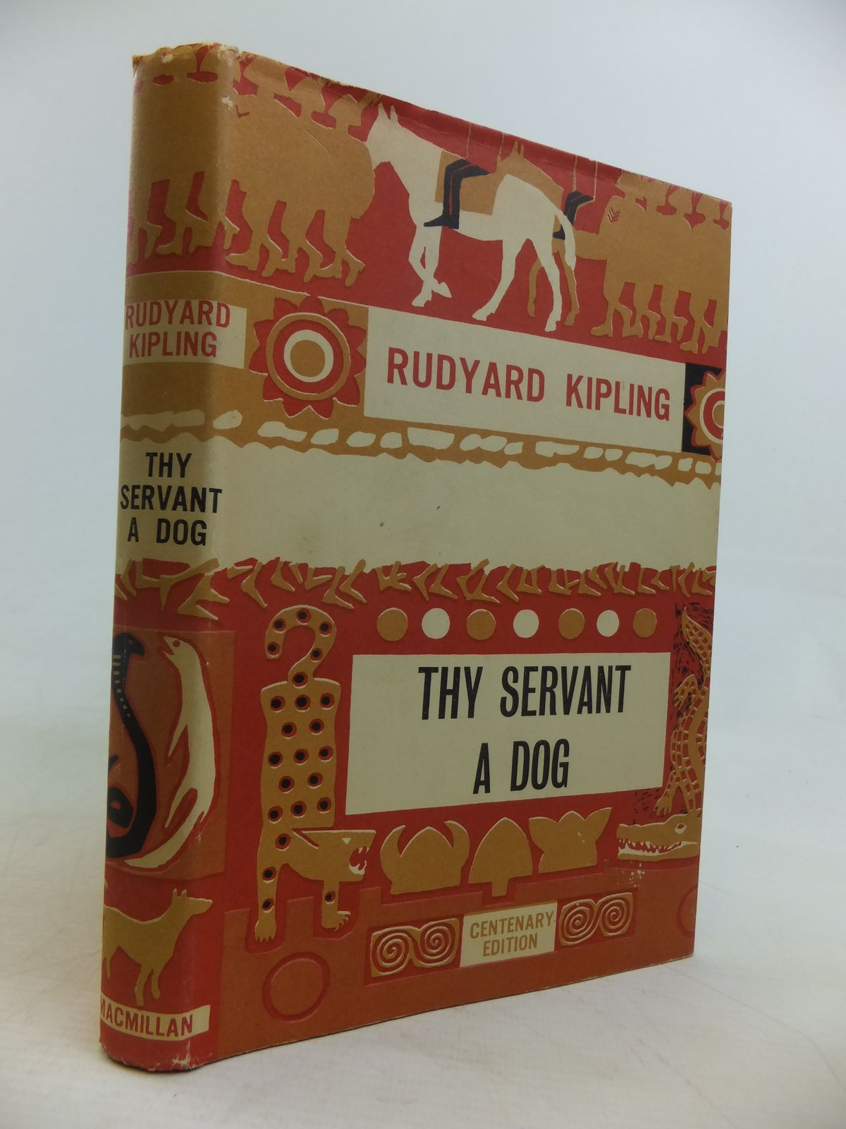 Photo of THY SERVANT A DOG written by Kipling, Rudyard illustrated by Stampa, G.L. published by Macmillan & Co. Ltd. (STOCK CODE: 1810935)  for sale by Stella & Rose's Books