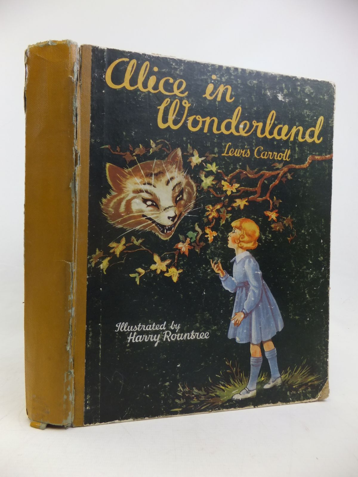 Photo of ALICE IN WONDERLAND written by Carroll, Lewis illustrated by Rountree, Harry<br />Eulalie,  published by The Children's Press (STOCK CODE: 1810979)  for sale by Stella & Rose's Books