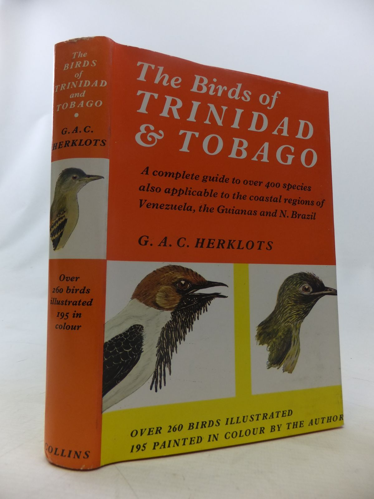 Photo of THE BIRDS OF TRINIDAD AND TOBAGO written by Herklots, G.A.C. illustrated by Herklots, G.A.C.<br />Abbott, J.M. published by Collins (STOCK CODE: 1811060)  for sale by Stella & Rose's Books