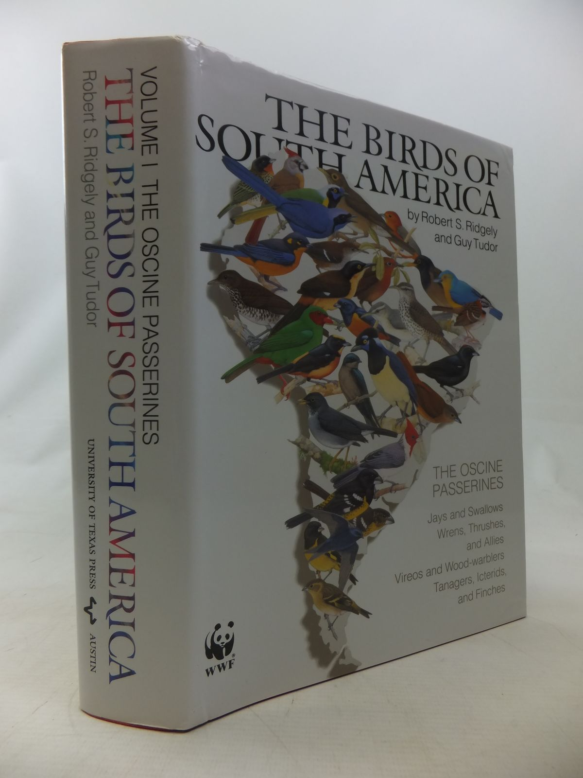 Photo of THE BIRDS OF SOUTH AMERICA VOLUME I THE OSCINE PASSERINES written by Ridgely, Robert S.<br />Tudor, Guy published by University of Texas Press (STOCK CODE: 1811069)  for sale by Stella & Rose's Books