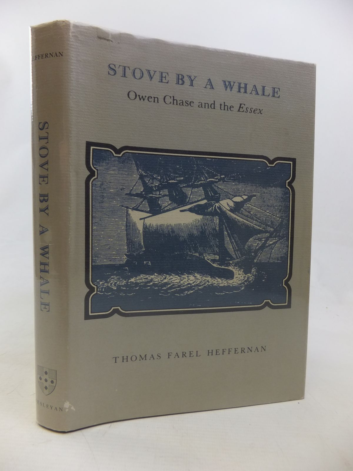 Photo of STOVE BY A WHALE: OWEN CHASE AND THE ESSEX written by Heffernan, Thomas Farel published by Wesleyan University Press (STOCK CODE: 1811134)  for sale by Stella & Rose's Books