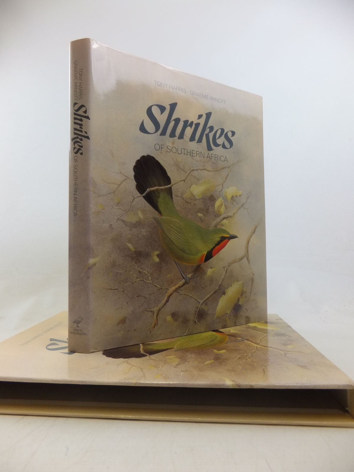 Photo of SHRIKES OF SOUTHERN AFRICA written by Harris, Tony illustrated by Arnott, Graeme published by Struik (STOCK CODE: 1811194)  for sale by Stella & Rose's Books