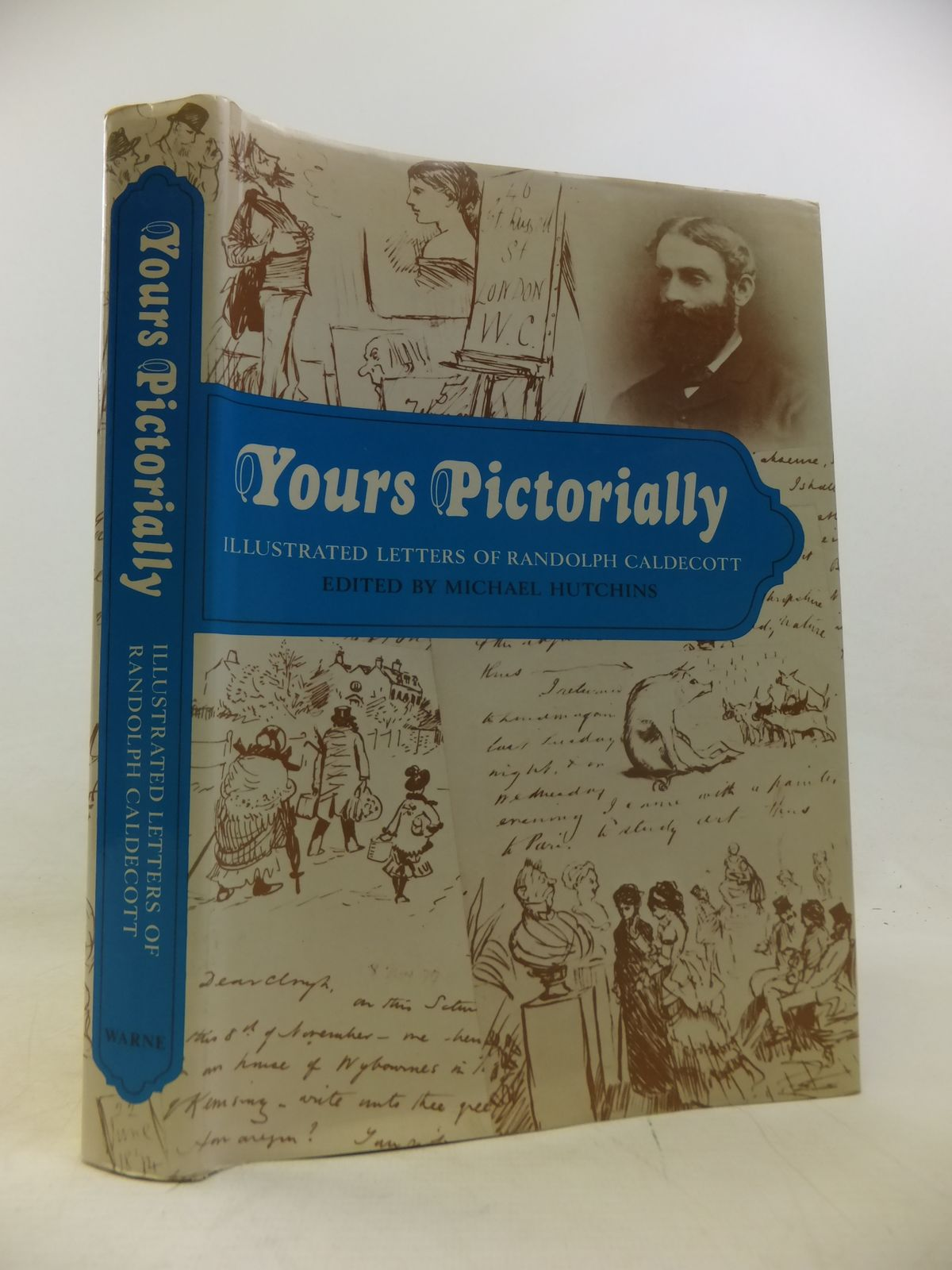 Photo of YOURS PICTORIALLY written by Caldecott, Randolph<br />Hutchins, Michael illustrated by Caldecott, Randolph published by Frederick Warne & Co Ltd. (STOCK CODE: 1811201)  for sale by Stella & Rose's Books