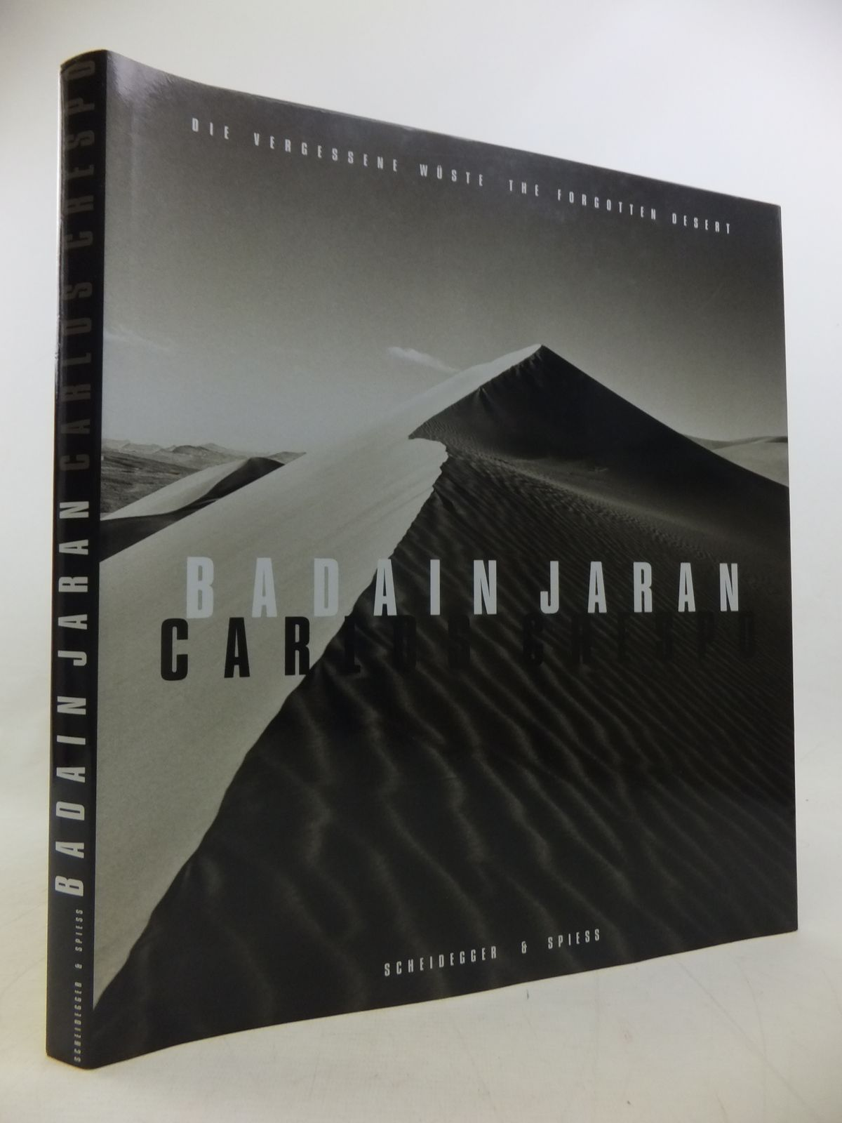 Photo of BADAIN JARAN: THE FORGOTTEN DESERT: DIE VERGESSENE WUSTE written by Hug, Catherine<br />Kouwenhoven, Bill illustrated by Crespo, Luis Fresnocarlos published by Scheidegger & Spiess (STOCK CODE: 1811246)  for sale by Stella & Rose's Books