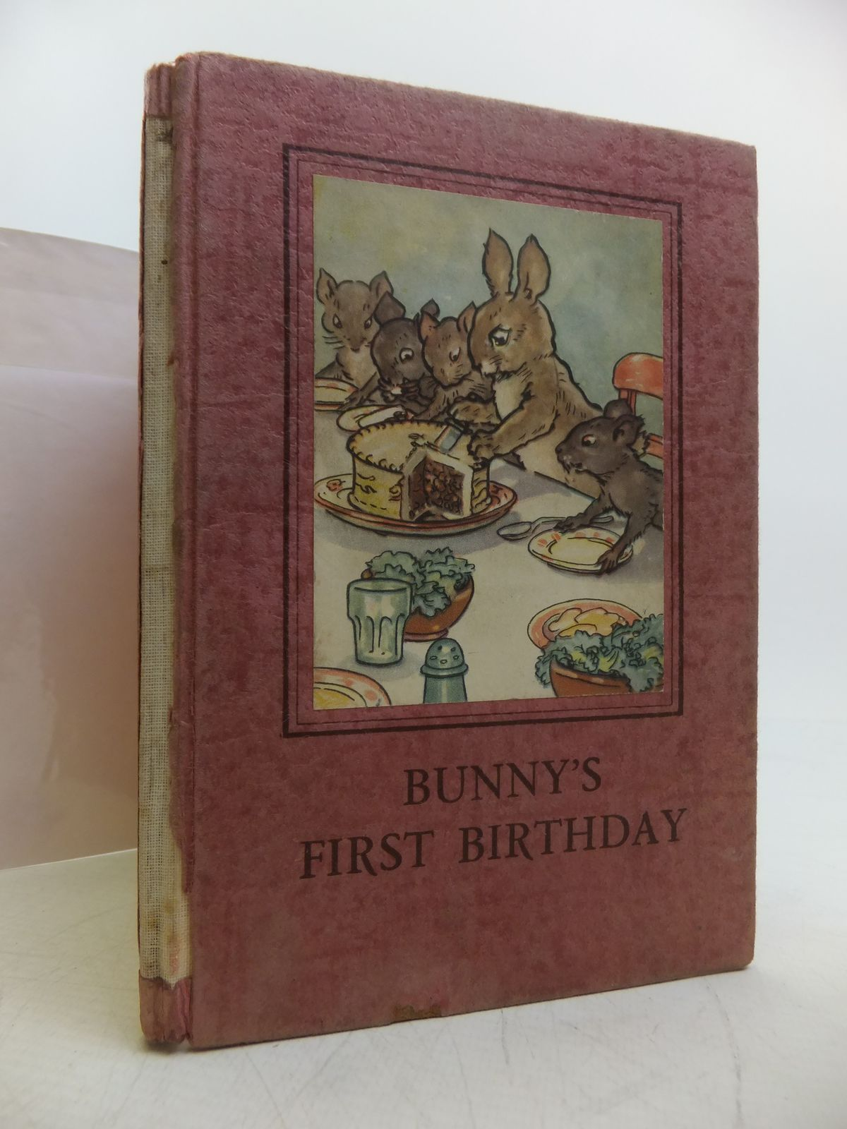 Photo of BUNNY'S FIRST BIRTHDAY written by Macgregor, A.J.<br />Perring, W. illustrated by Macgregor, A.J. published by Wills & Hepworth Ltd. (STOCK CODE: 1811389)  for sale by Stella & Rose's Books